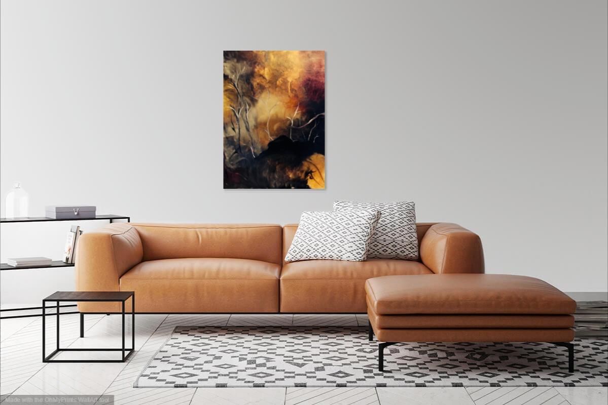 Dark Forest by Patrick Irish | ArtworkNetwork.com