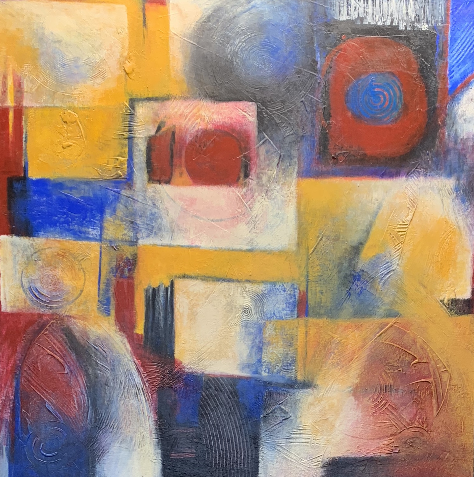 primary colors by Ulla Meyer | ArtworkNetwork.com