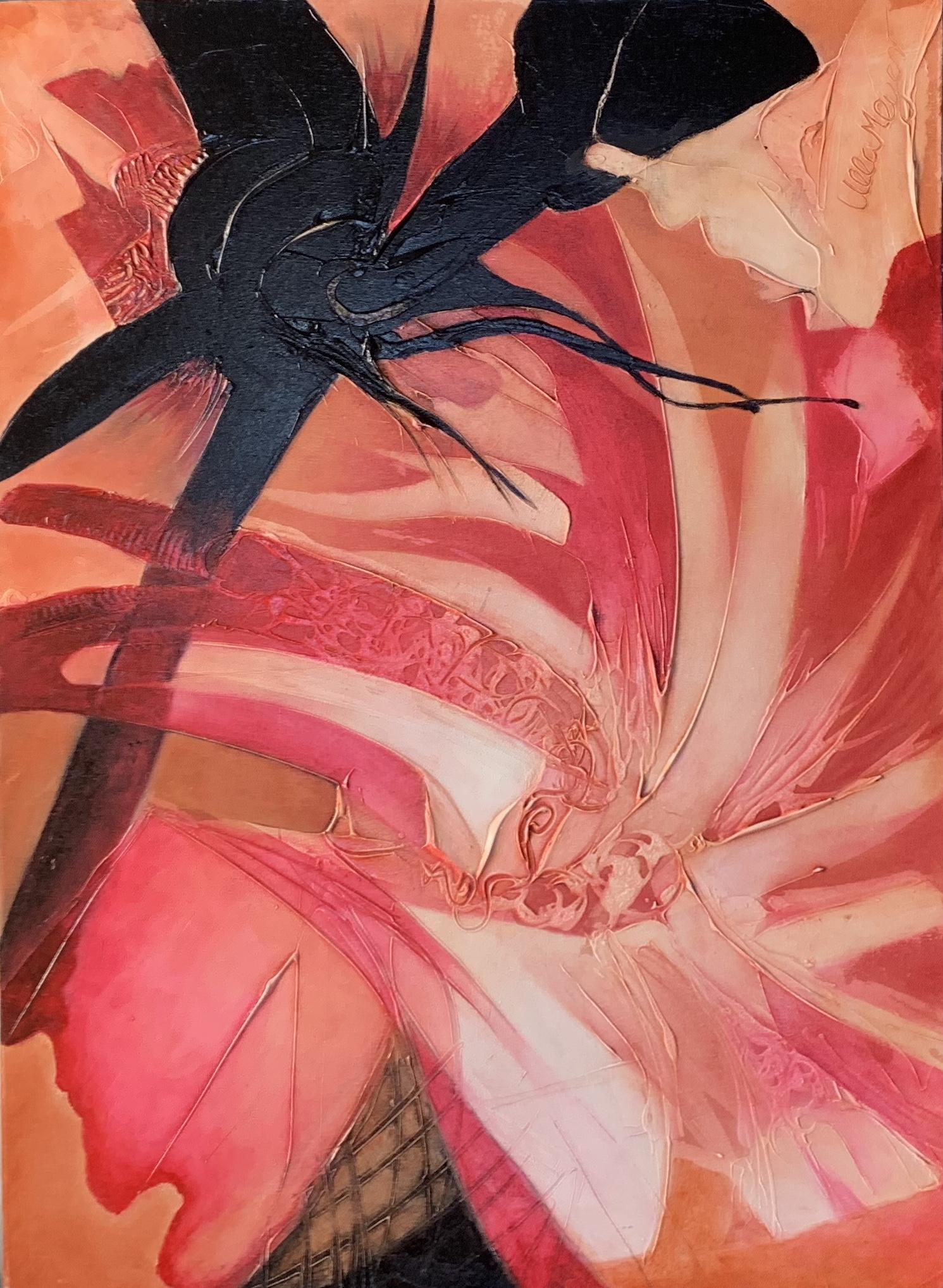 black spider by Ulla Meyer | ArtworkNetwork.com