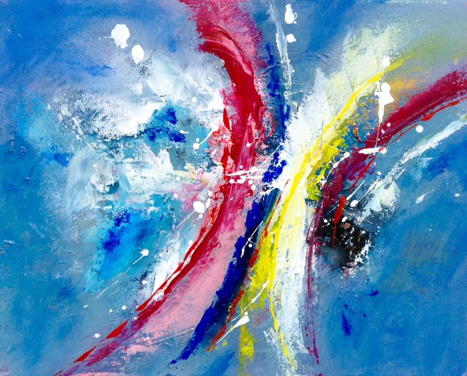 Farbenspiel by Marie-Luise Vaughn | ArtworkNetwork.com