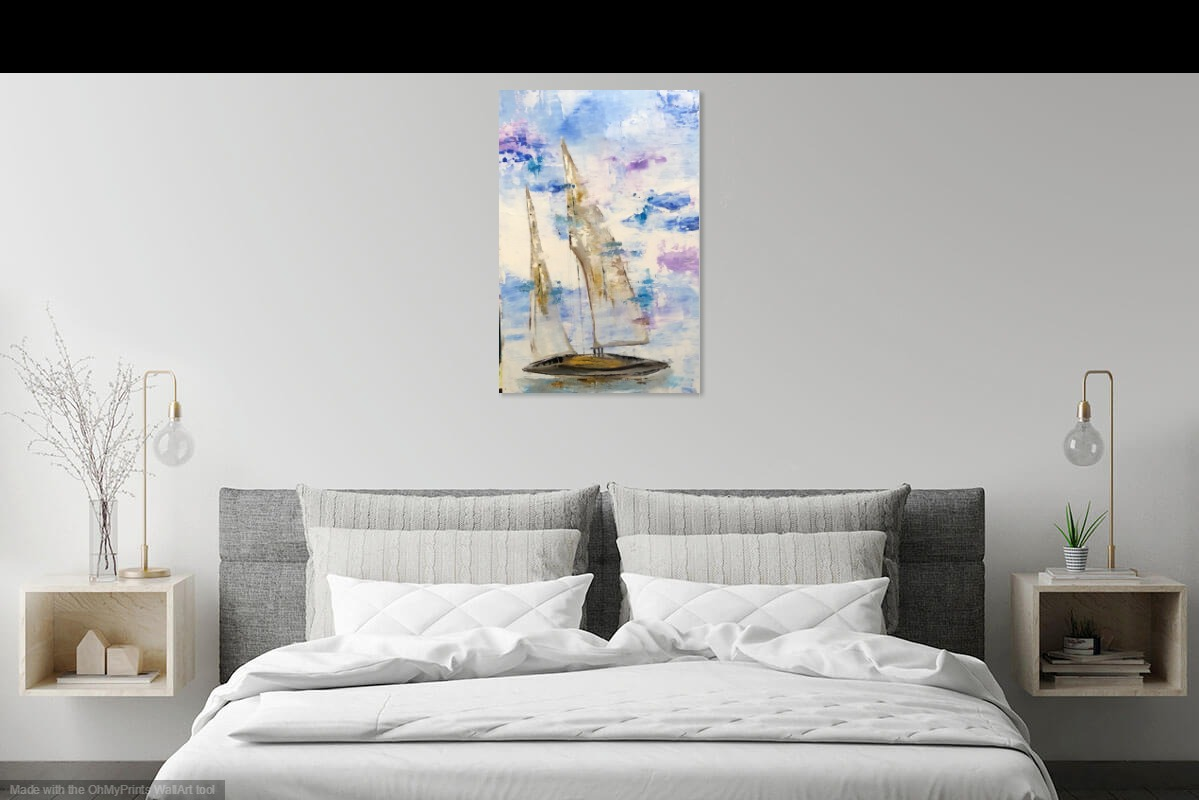 Double Sails by Patrick Irish | ArtworkNetwork.com