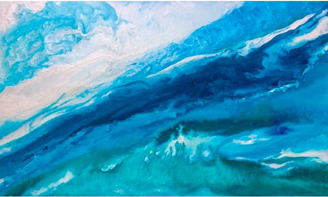 Converging Tides by Gabrielle Shannon | ArtworkNetwork.com