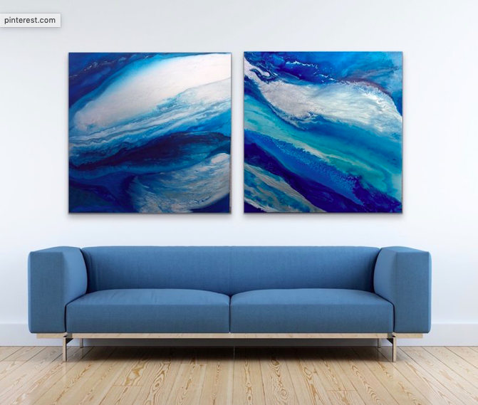 Blue Halo Two by Gabrielle Shannon | ArtworkNetwork.com