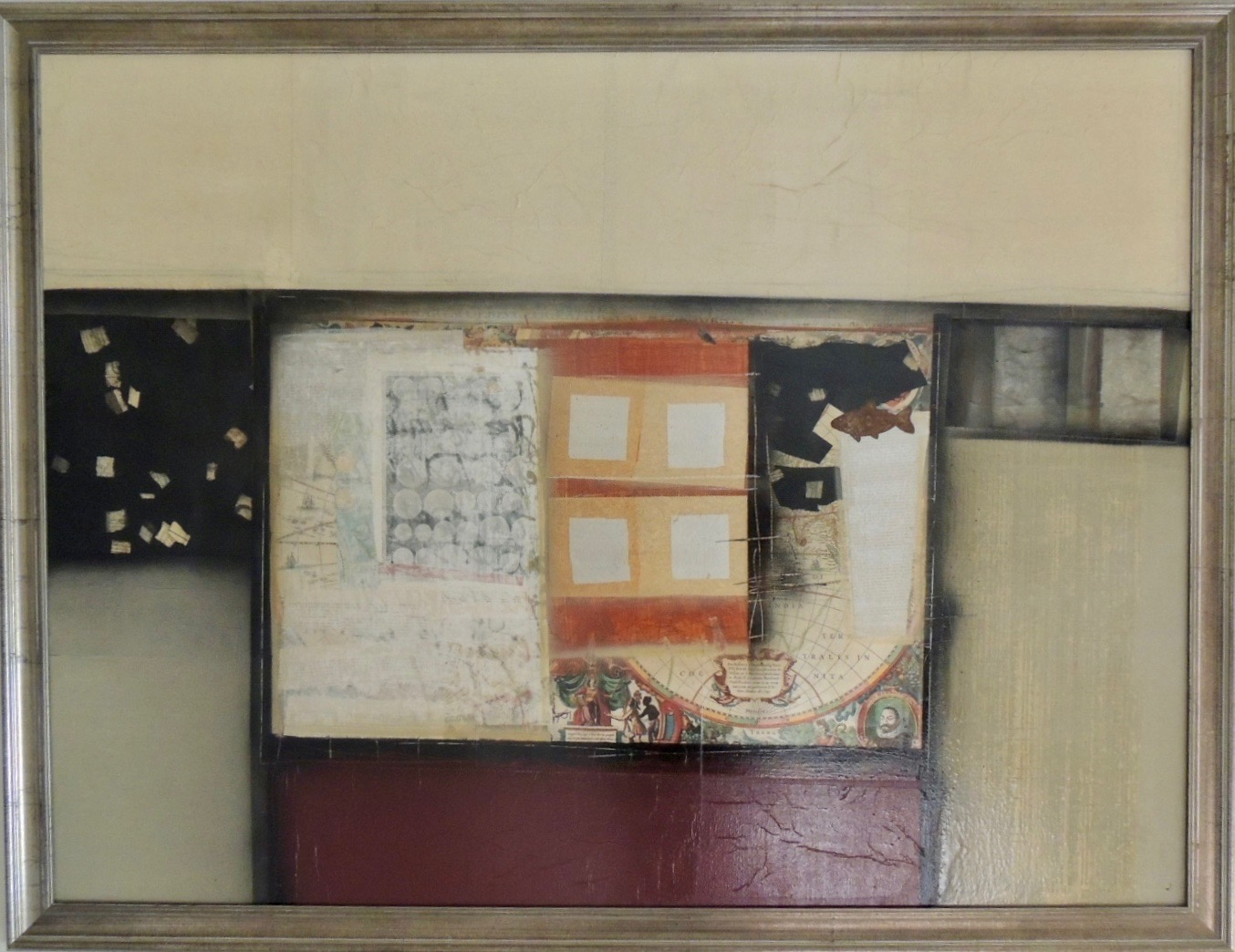 Four Silver Squares by Anne Wallace | ArtworkNetwork.com