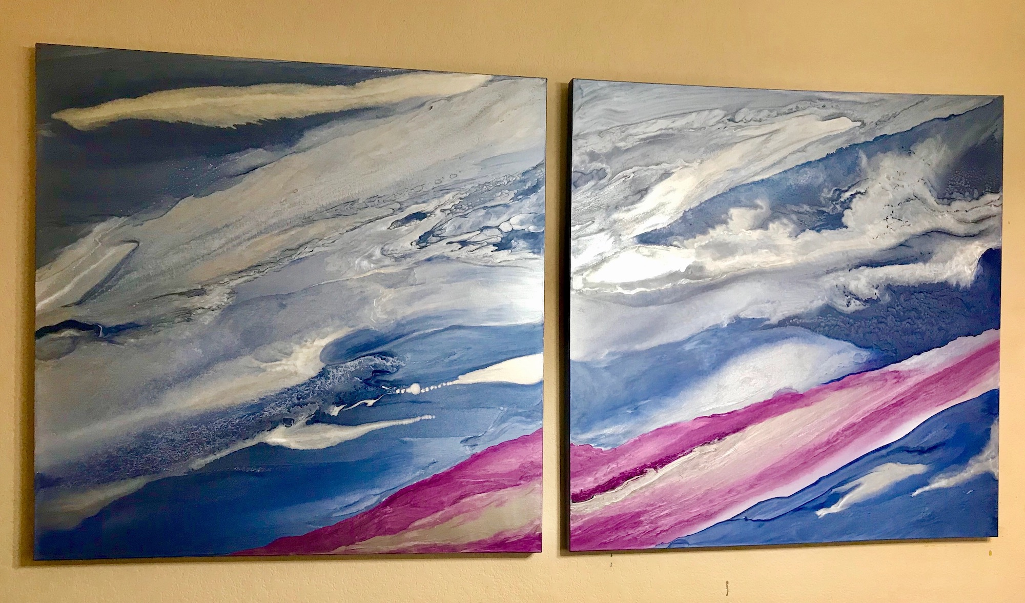 Magenta Skies by Gabrielle Shannon | ArtworkNetwork.com