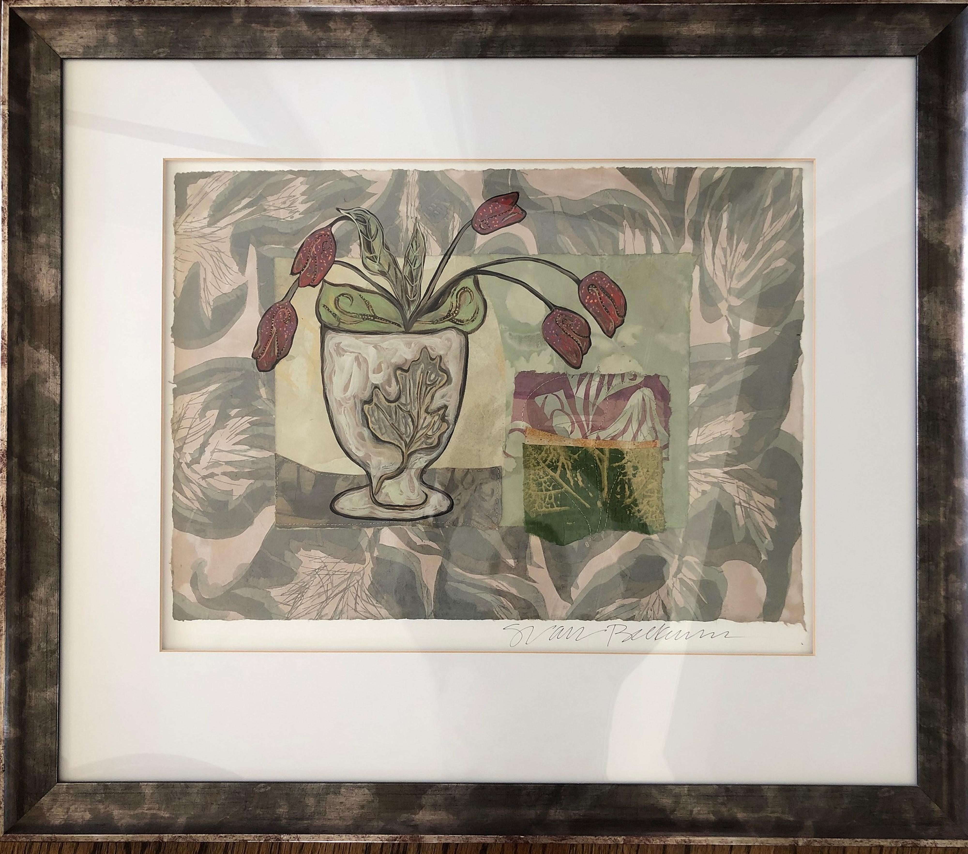 Tulip Bowl by Sarah Van Beckum | ArtworkNetwork.com