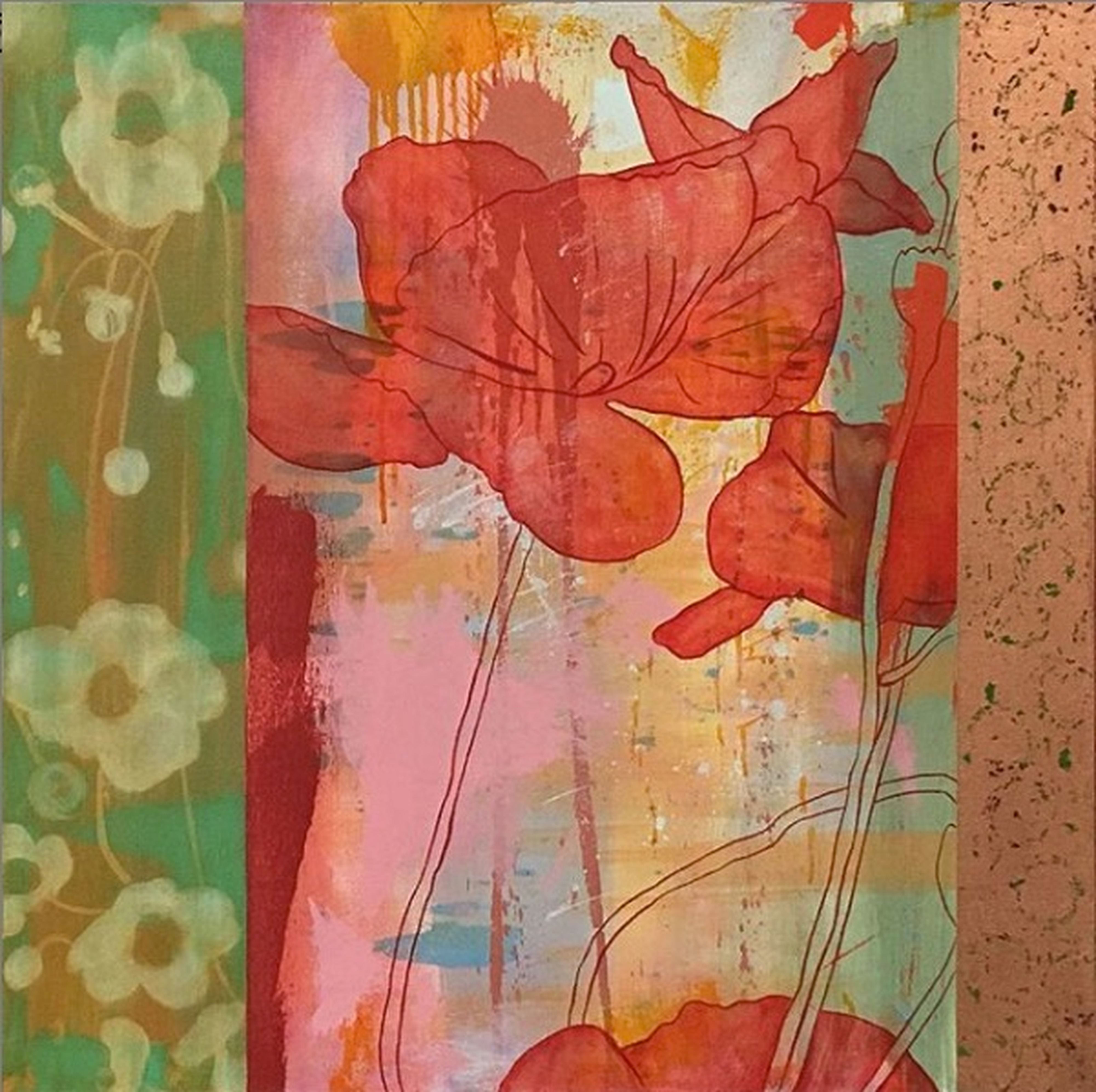 Poppies 1 by Ron Trujillo | ArtworkNetwork.com