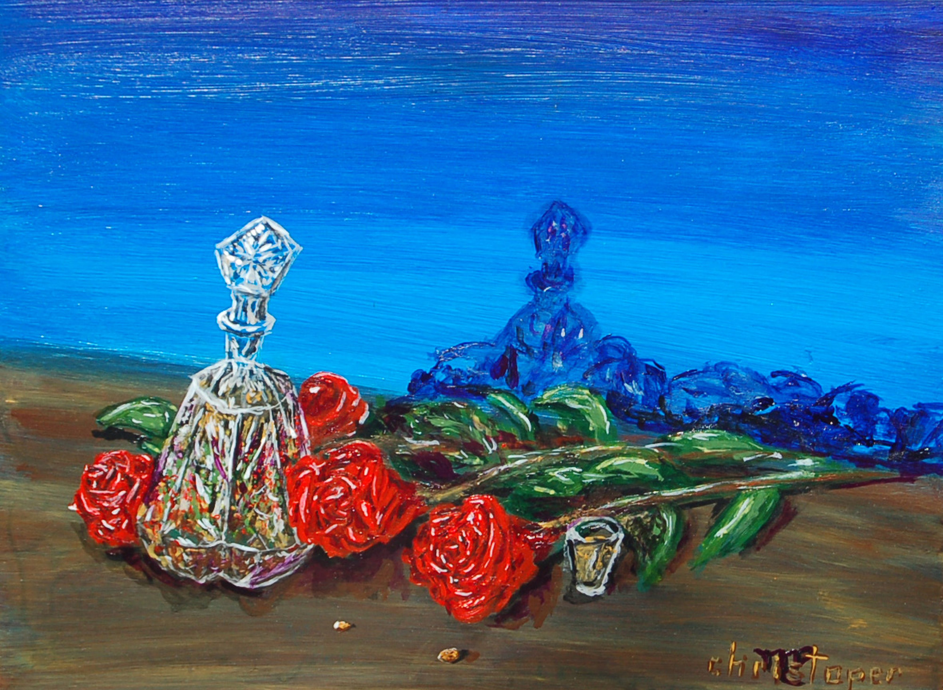 Crystal and Roses by Mark Smith | ArtworkNetwork.com