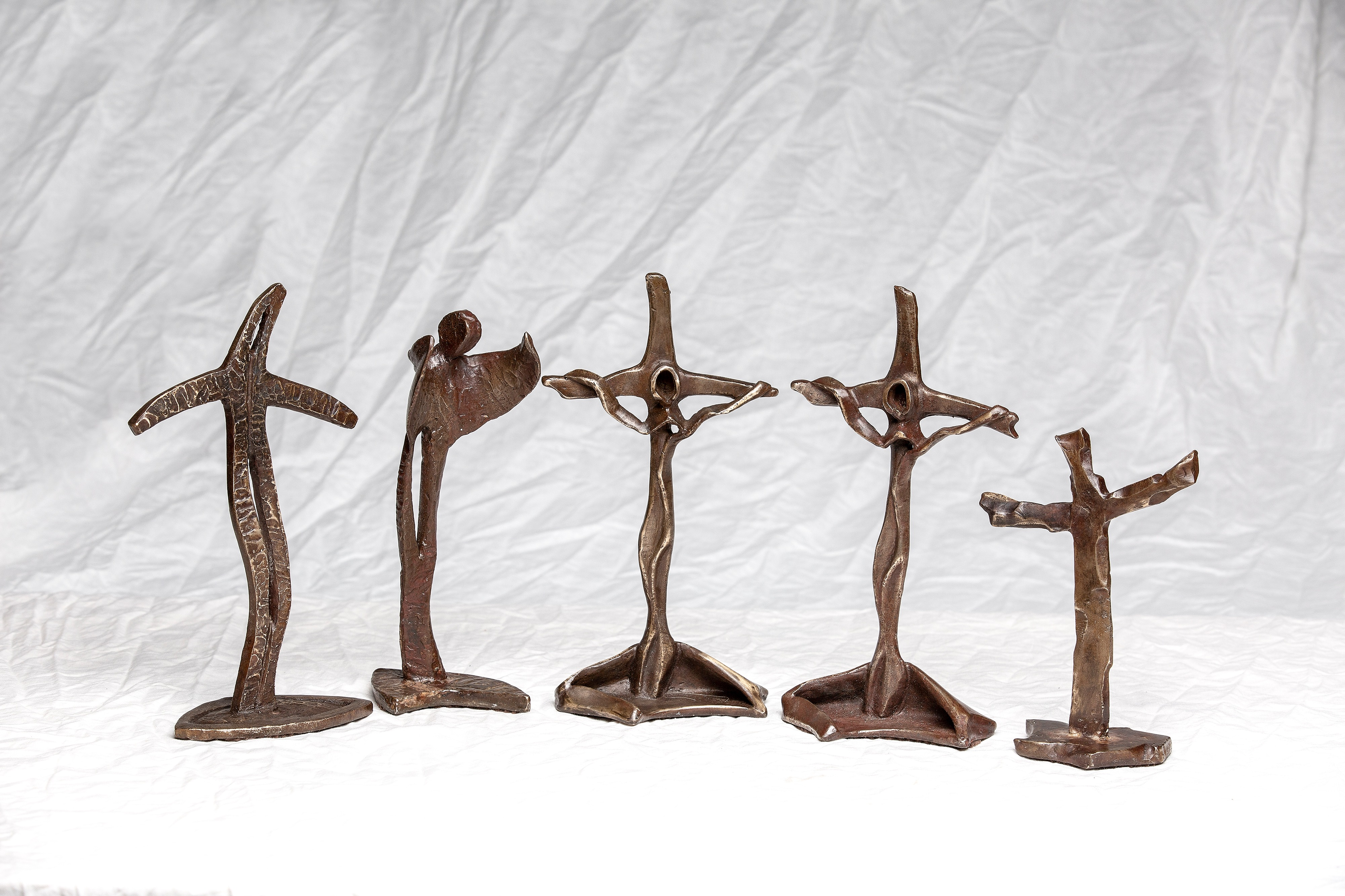 Crosses and angel by Robert Dewaele | ArtworkNetwork.com
