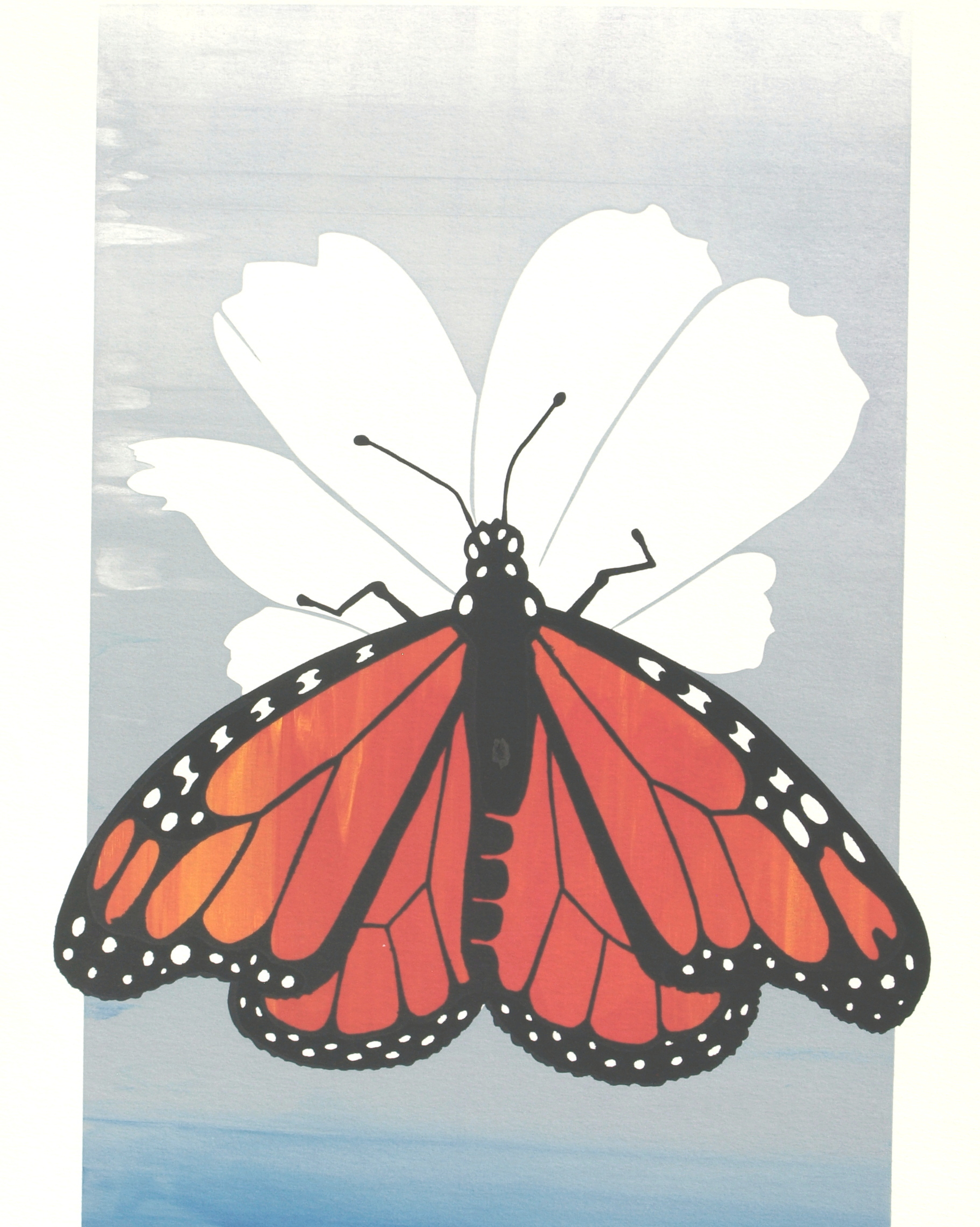 MONARCH BUTTERFLY by Irene Watts | ArtworkNetwork.com