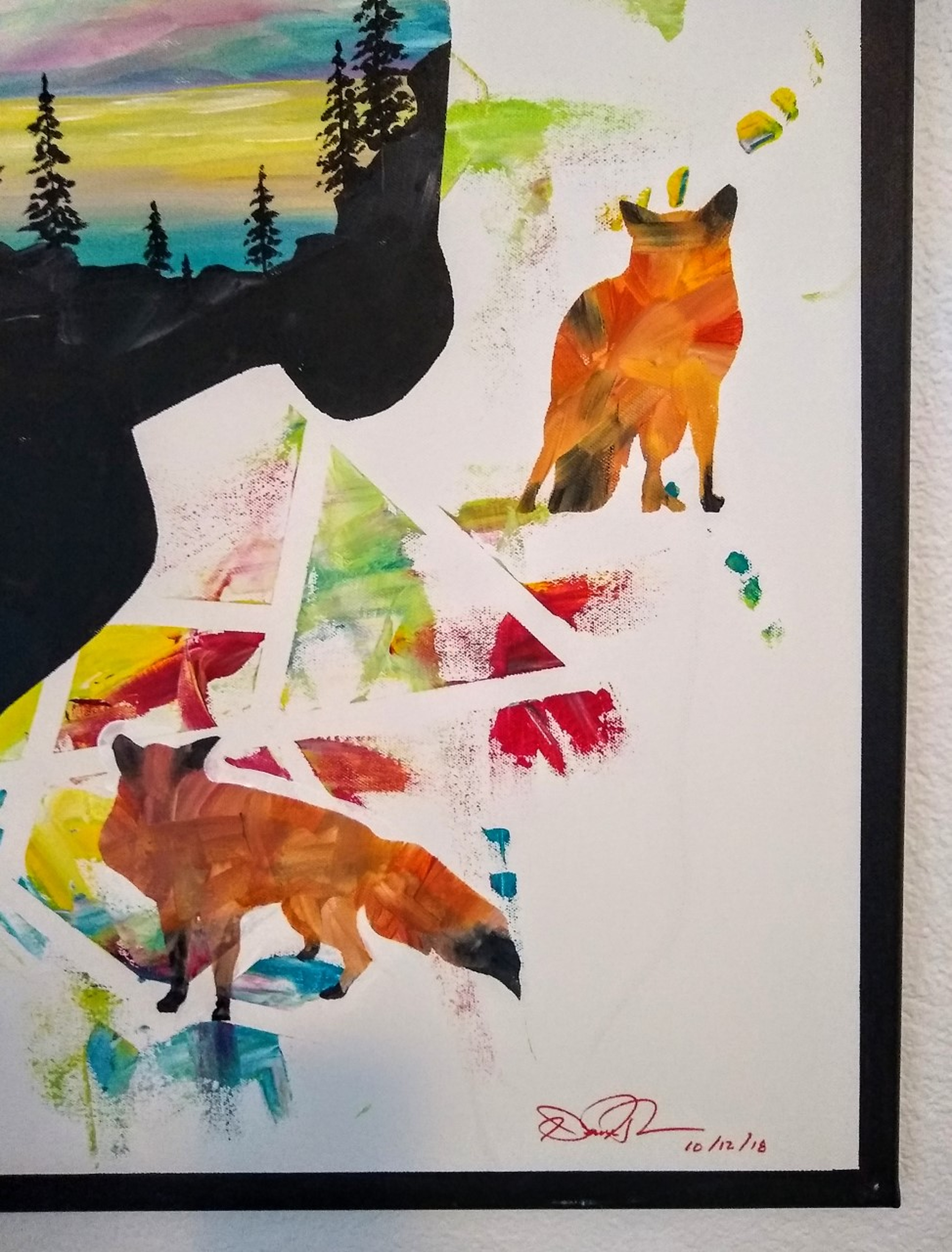 Fun with Foxes by Dane Hyman | ArtworkNetwork.com