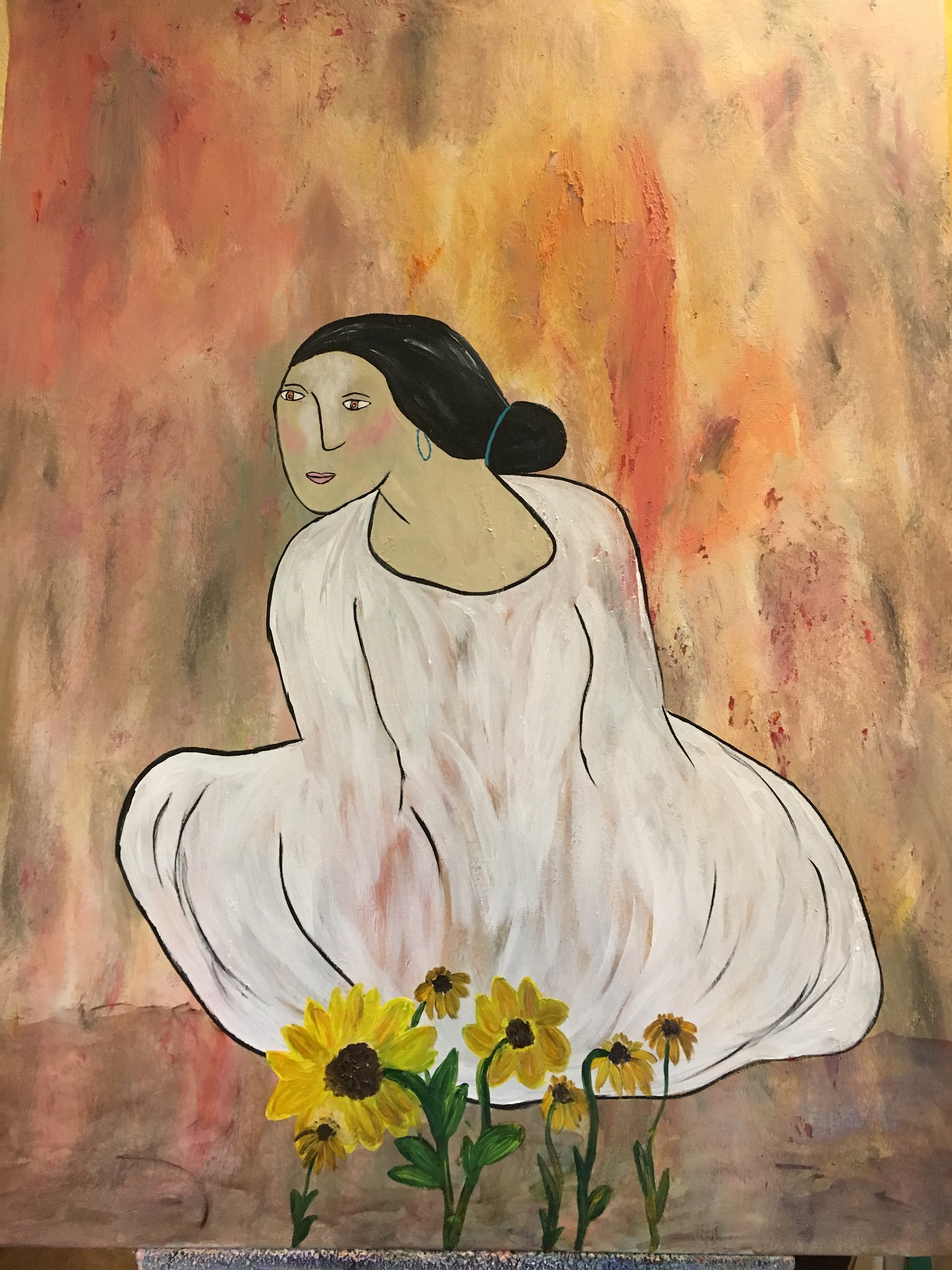 Woman by Marylin Kitchen | ArtworkNetwork.com