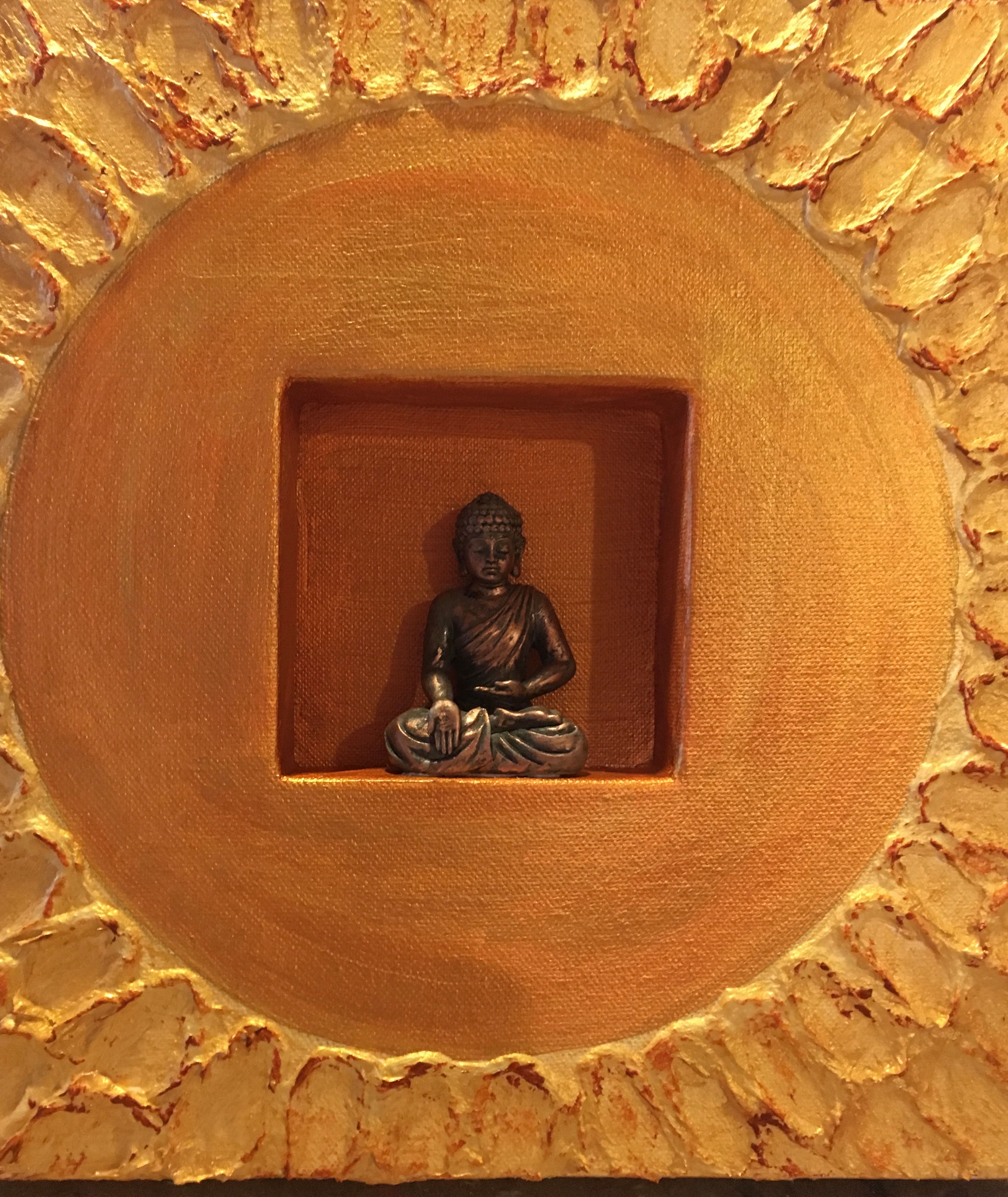 Buddha 2 by Marylin Kitchen | ArtworkNetwork.com