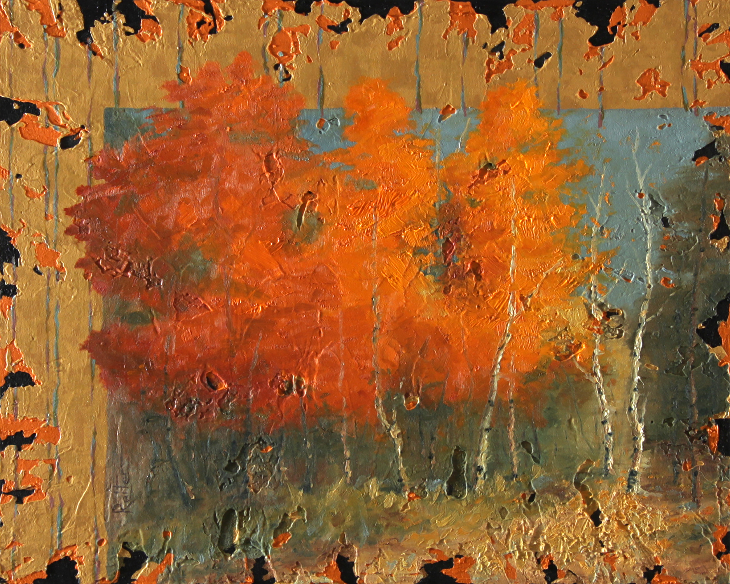 Fall Explosion by Dave Reiter | ArtworkNetwork.com