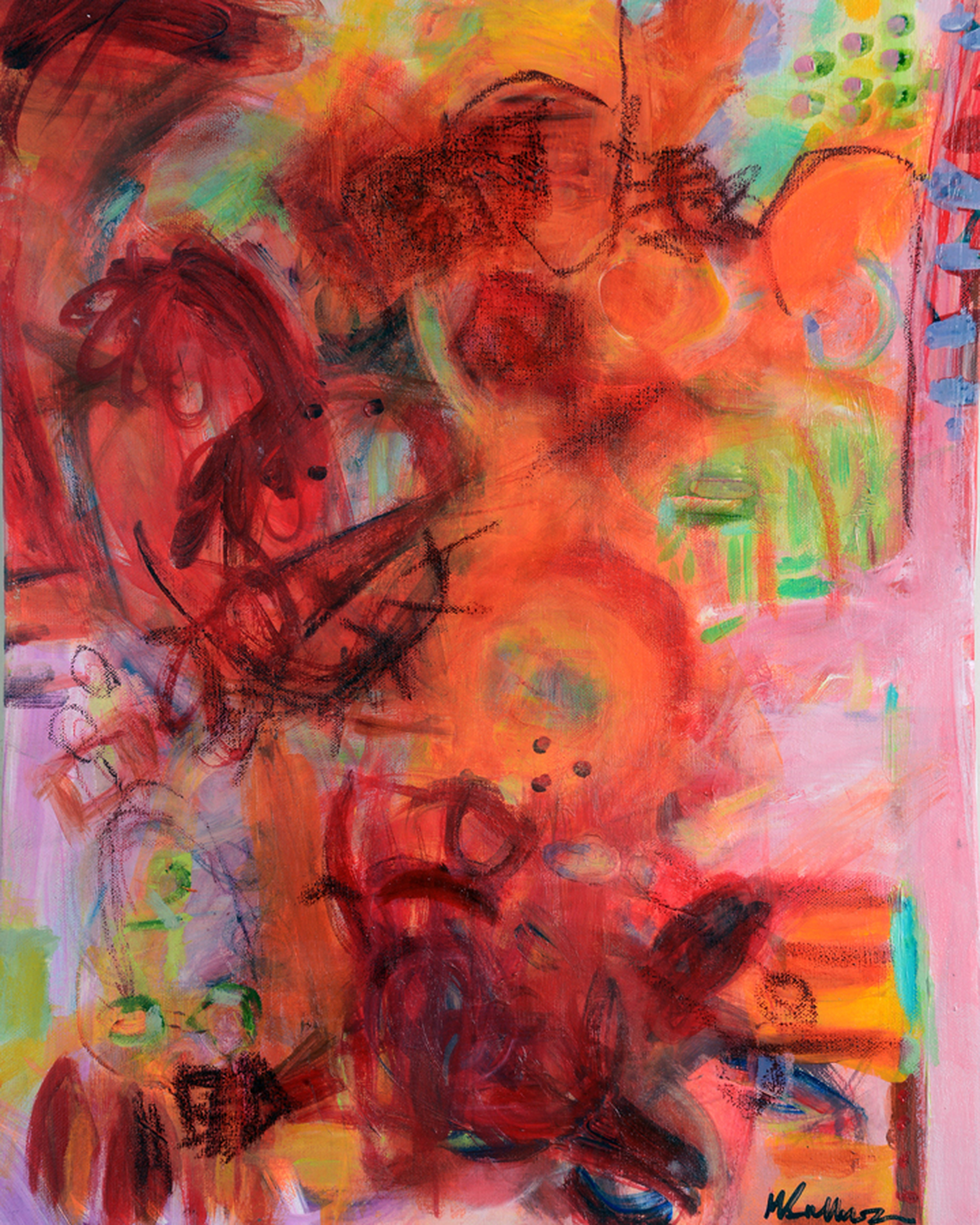Simply Red by Marla Sullivan | ArtworkNetwork.com