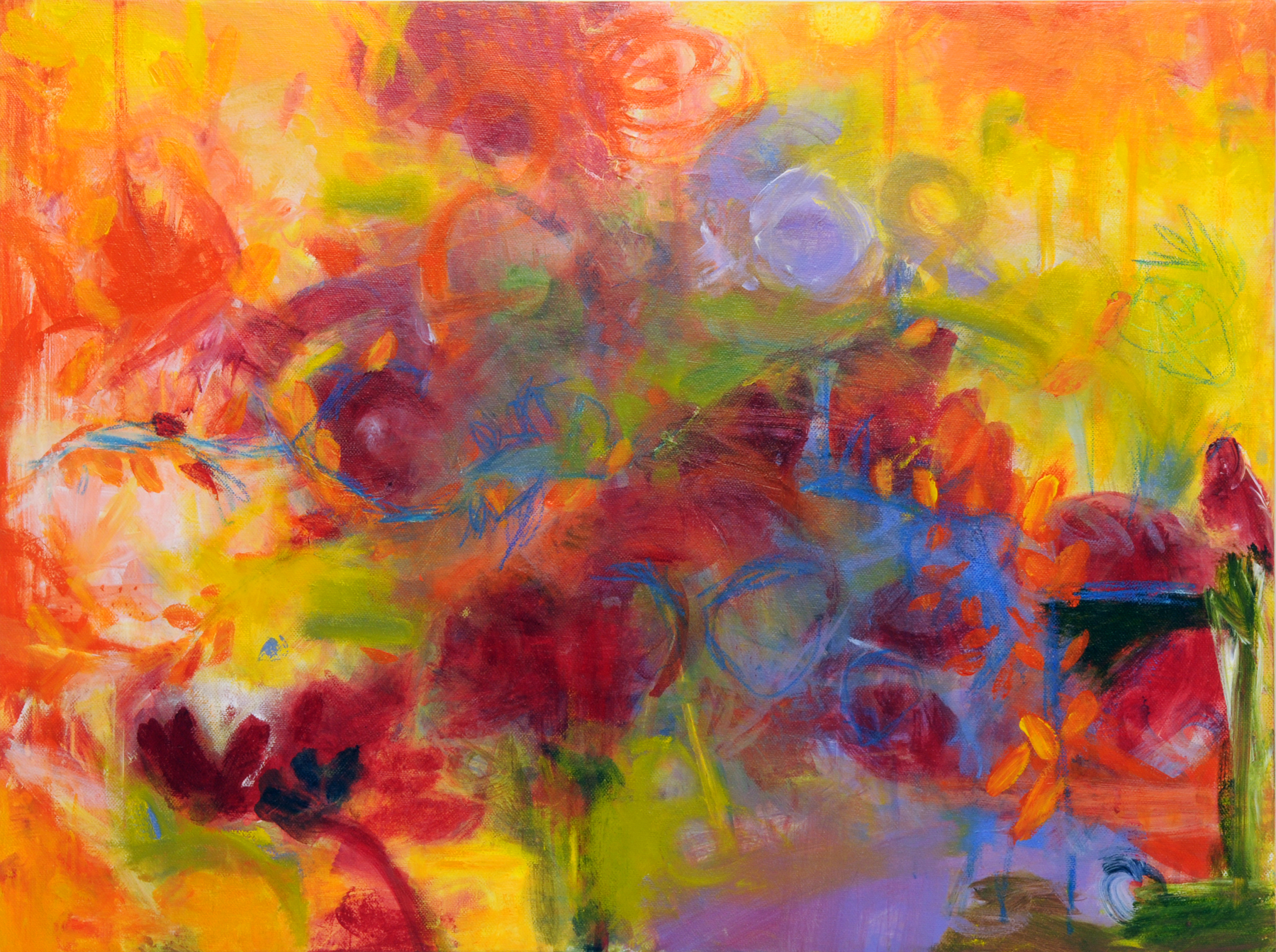 Ruby Tuesday by Marla Sullivan | ArtworkNetwork.com