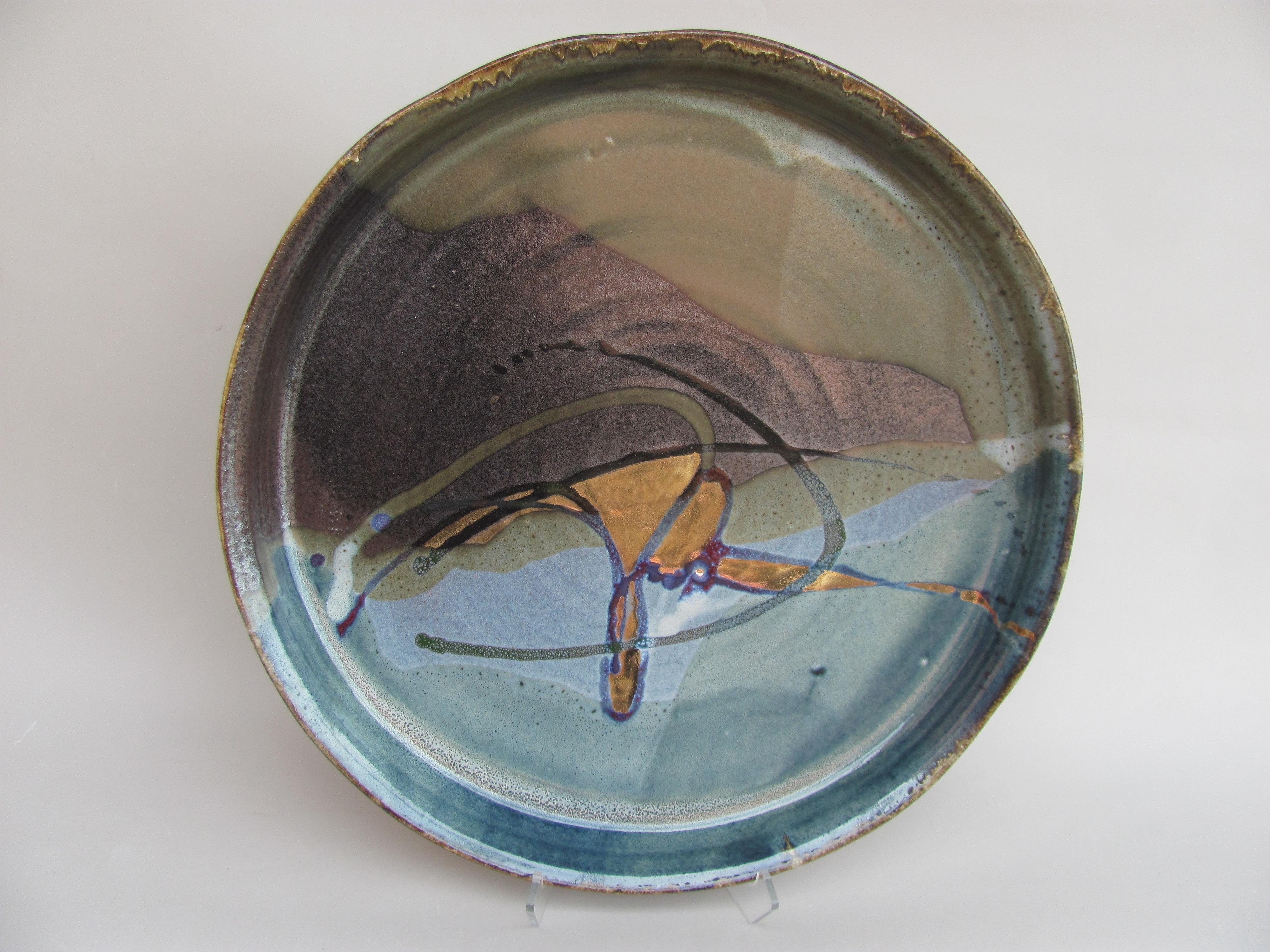 luster platter 5 by Macy Dorf | ArtworkNetwork.com