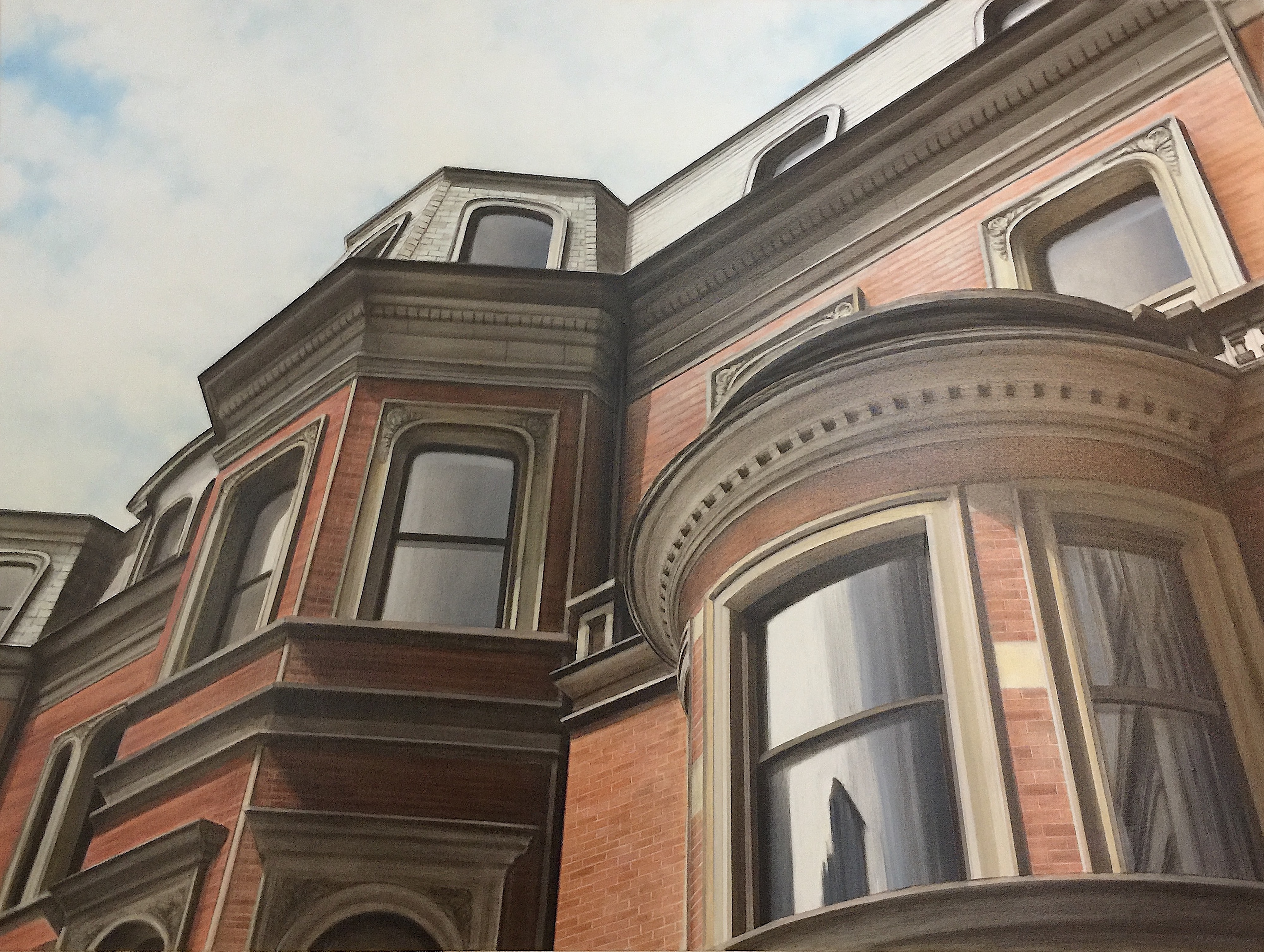 "Brownstone by MP ""Mike"" Raymond 