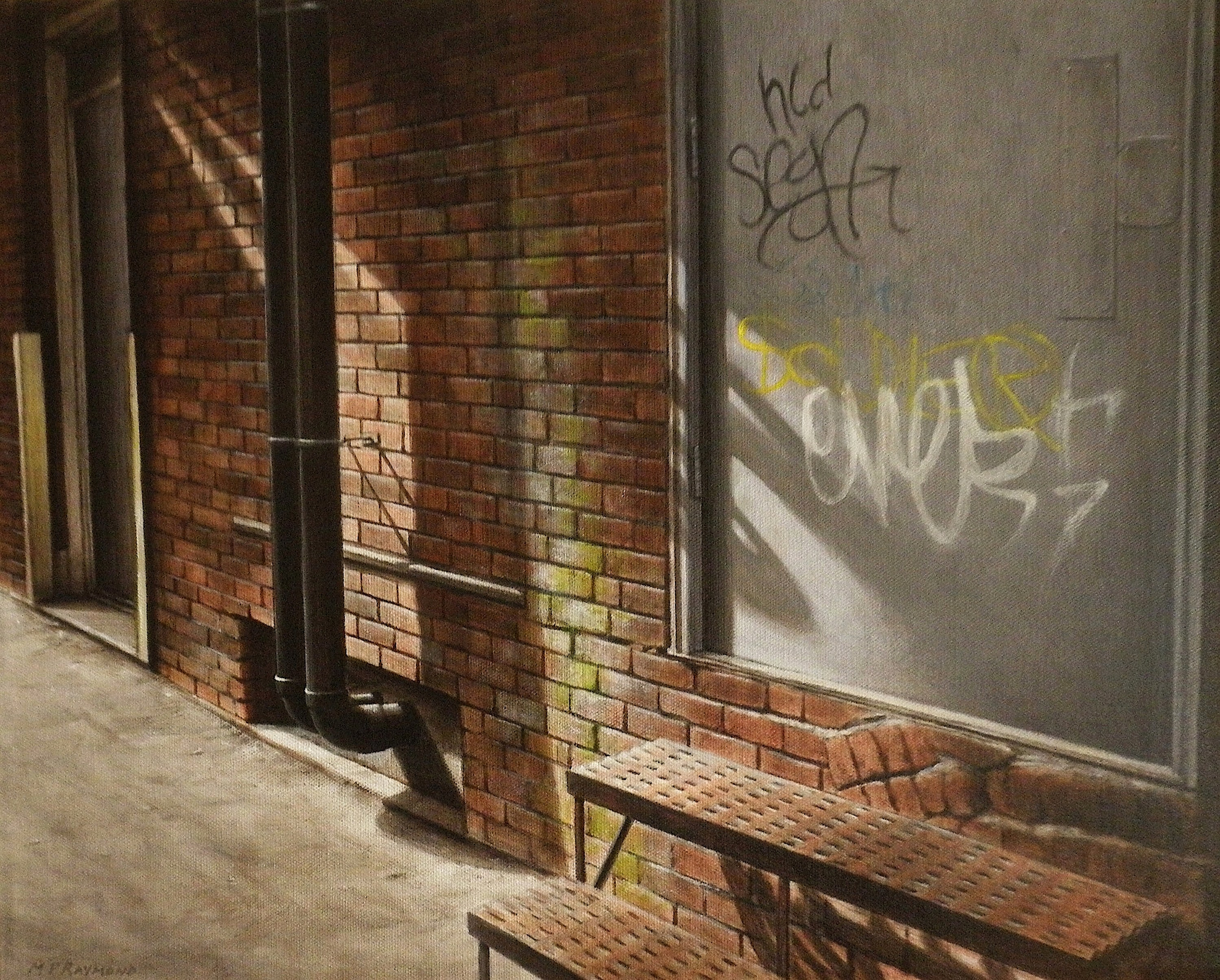 """The Alley by MP """"Mike"""" Raymond 