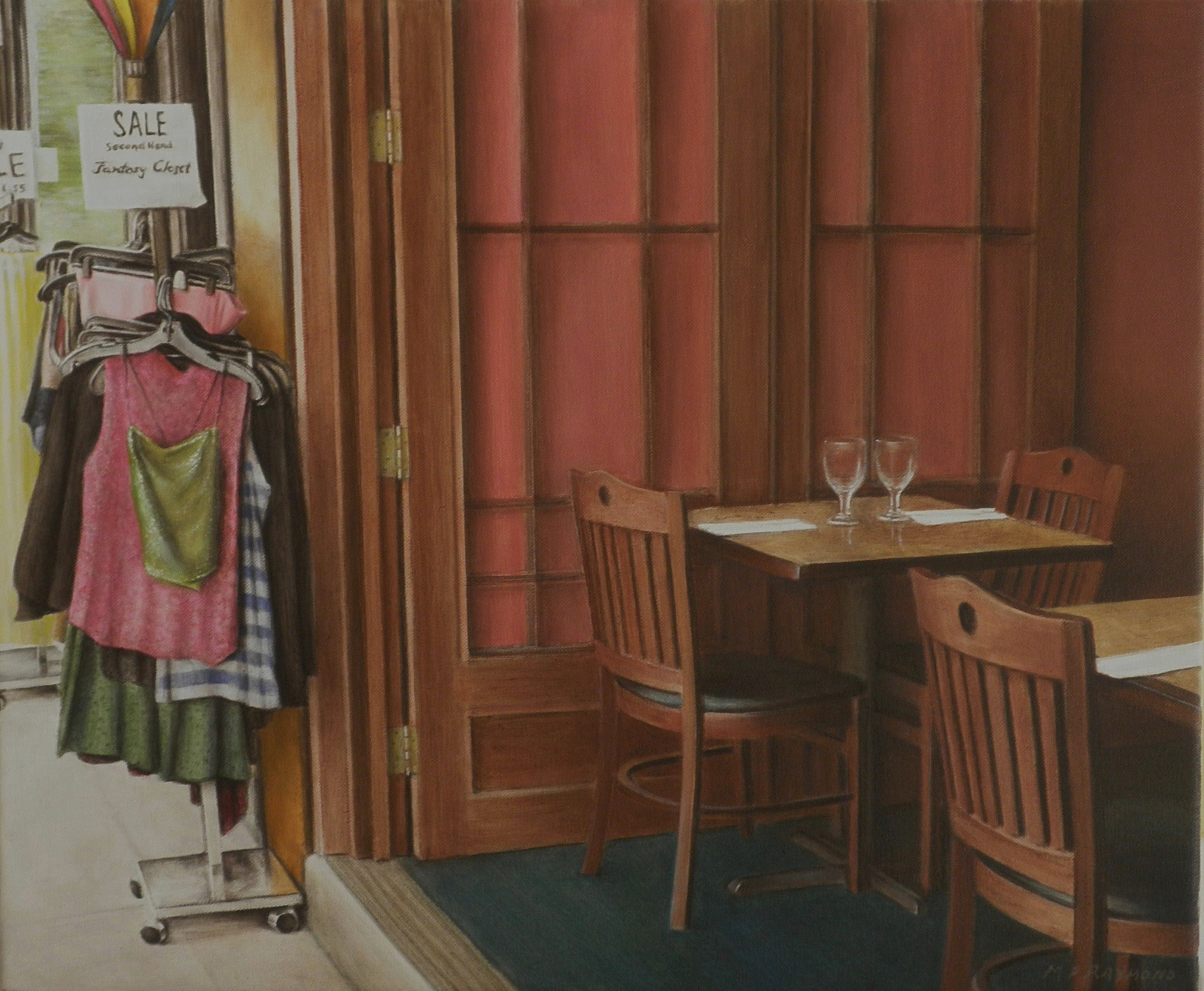 "The Cafe by MP ""Mike"" Raymond 