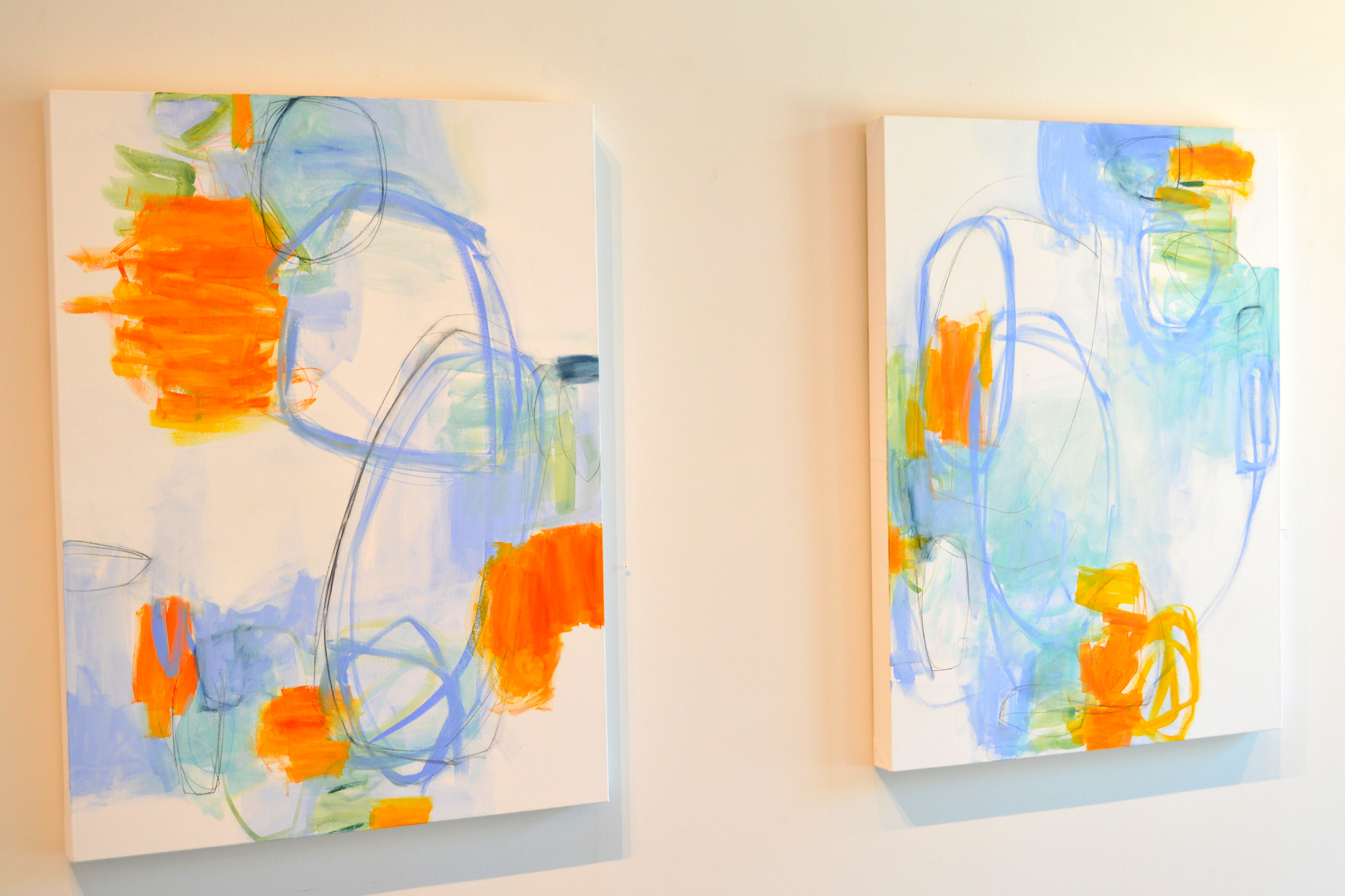 Antidote I & II (diptych) by Julia Rymer | ArtworkNetwork.com