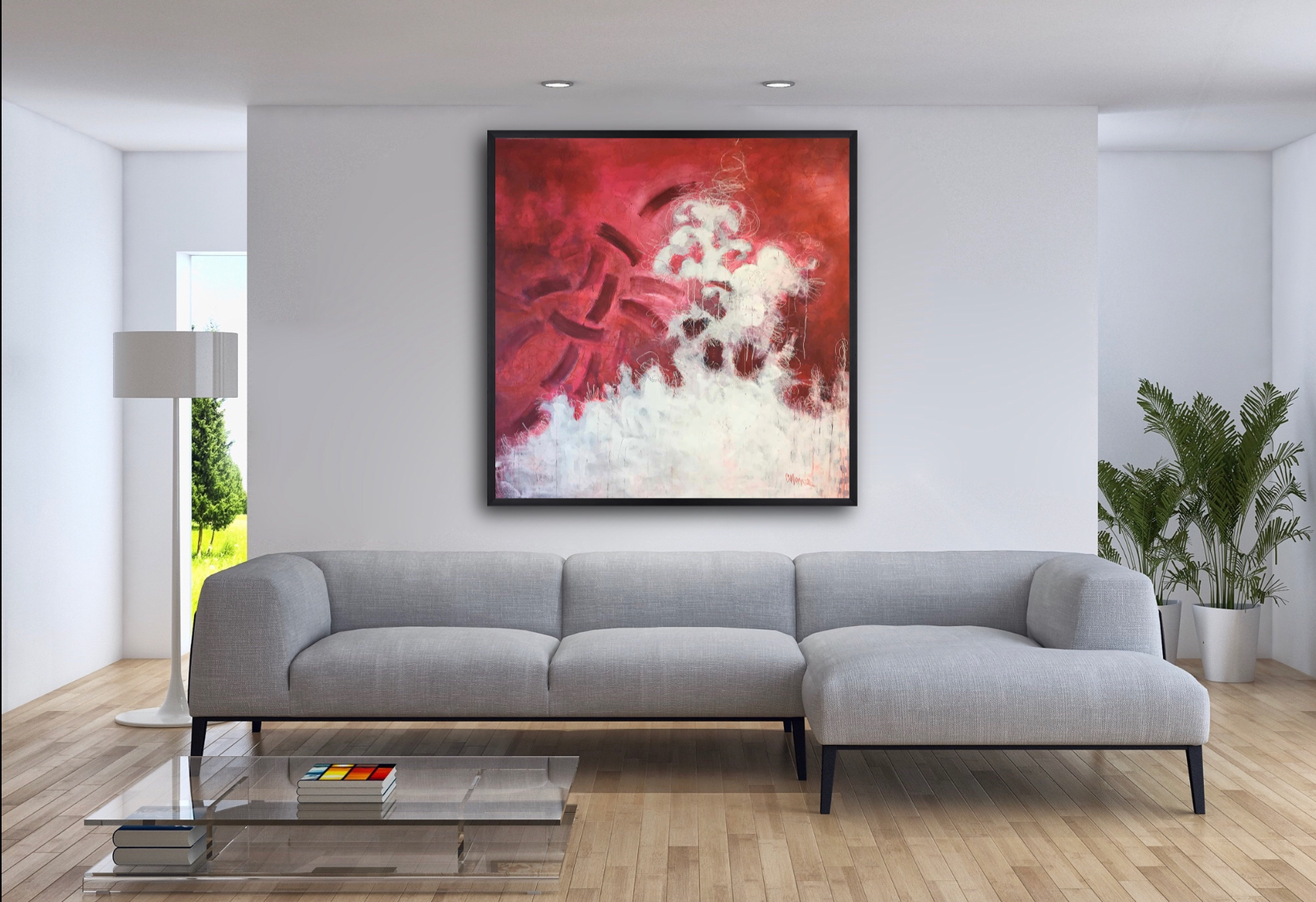 Flamenco in Red by Laurie Maves | ArtworkNetwork.com