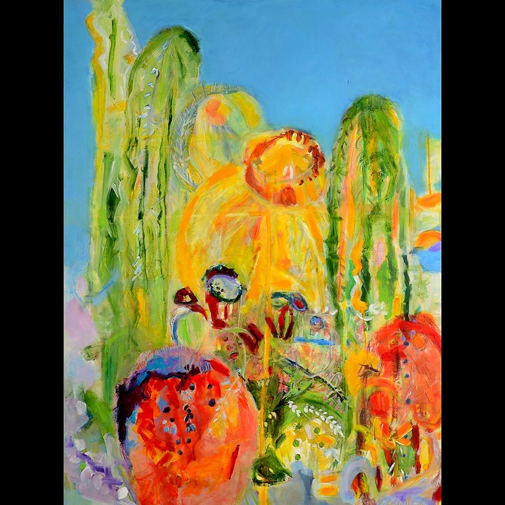 Electric Cacti by Marla Sullivan | ArtworkNetwork.com