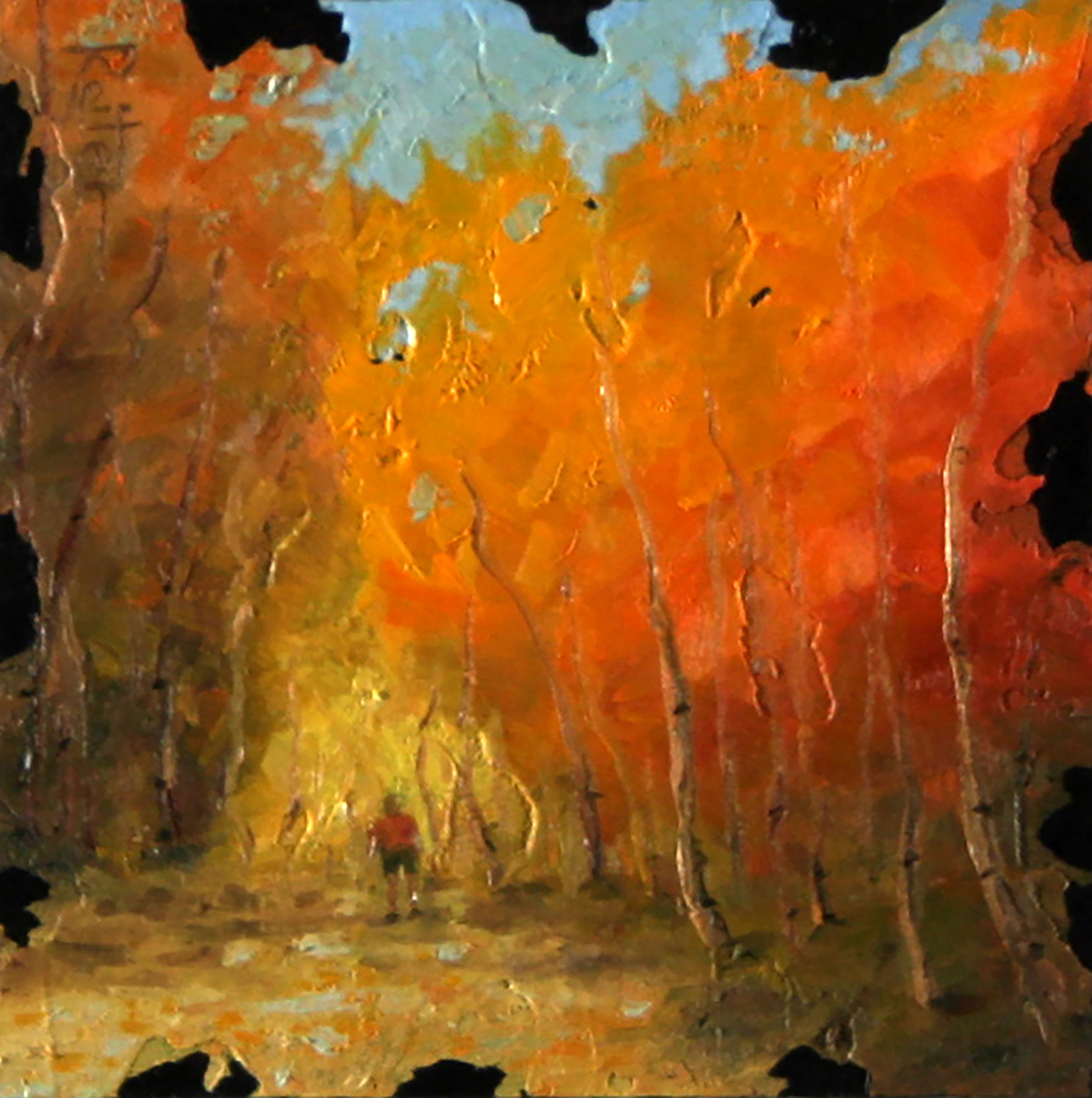 """Aspens XIX"" (19) by Dave Reiter | ArtworkNetwork.com"