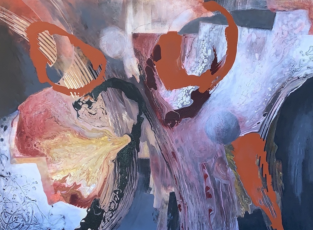 The Deep of Africa VII - On the Way by Ulla Meyer | ArtworkNetwork.com