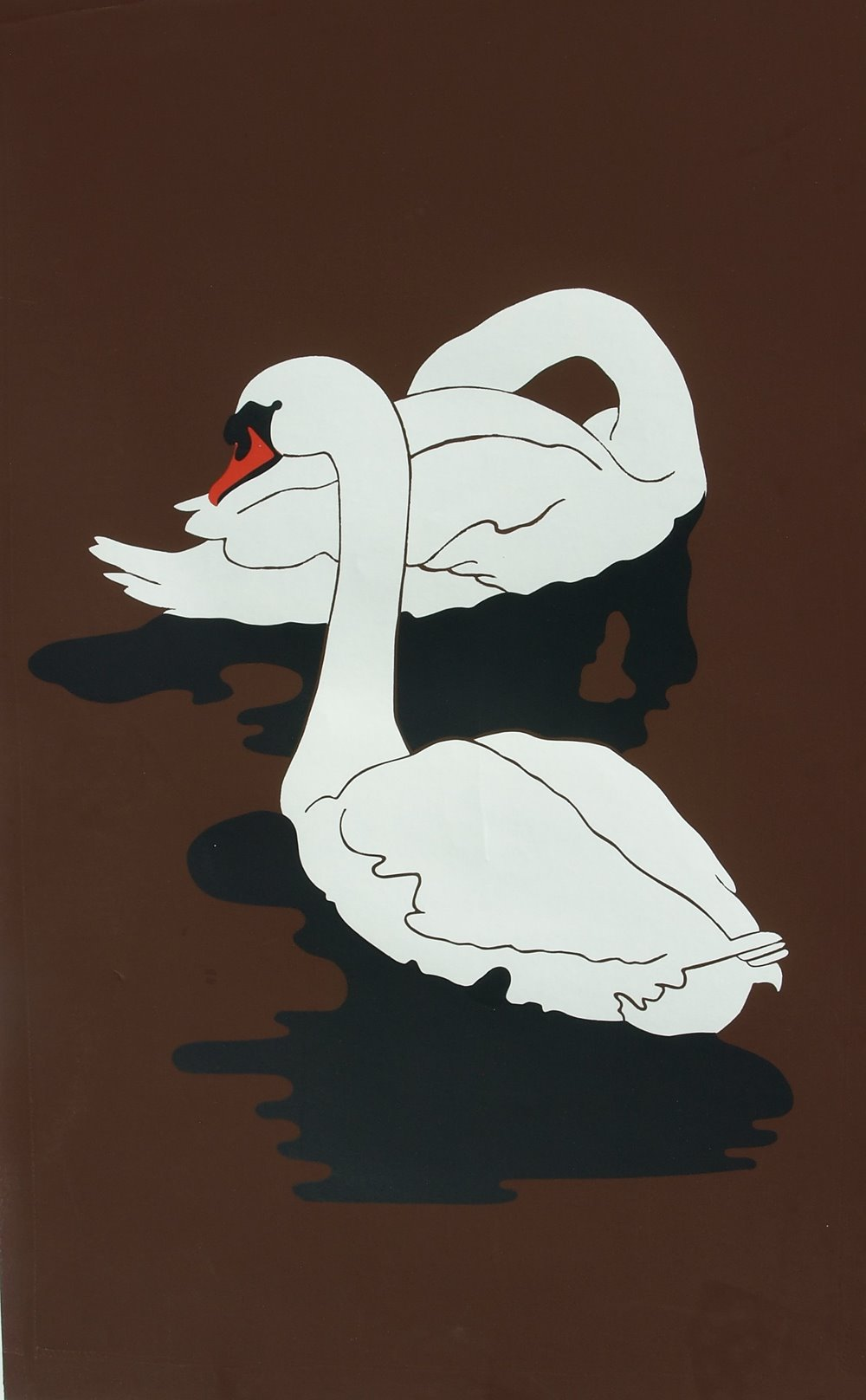Mute Swans by Irene Watts | ArtworkNetwork.com