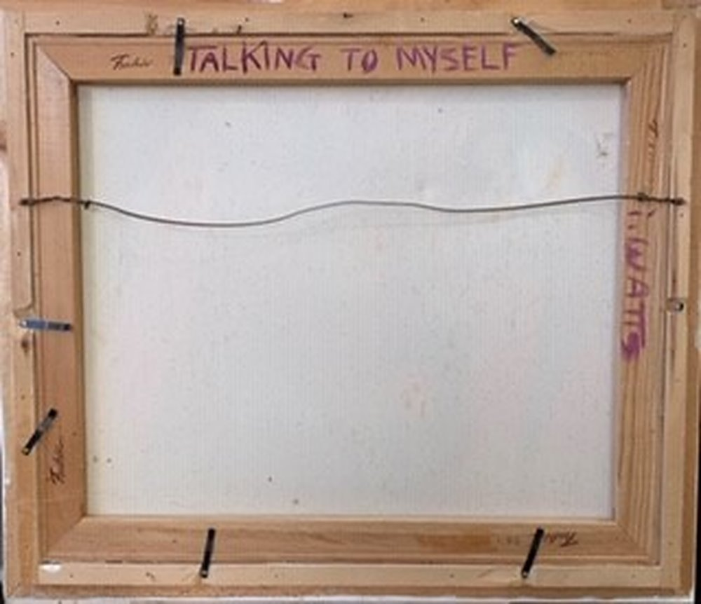 Talking To Myself by Irene Watts | ArtworkNetwork.com
