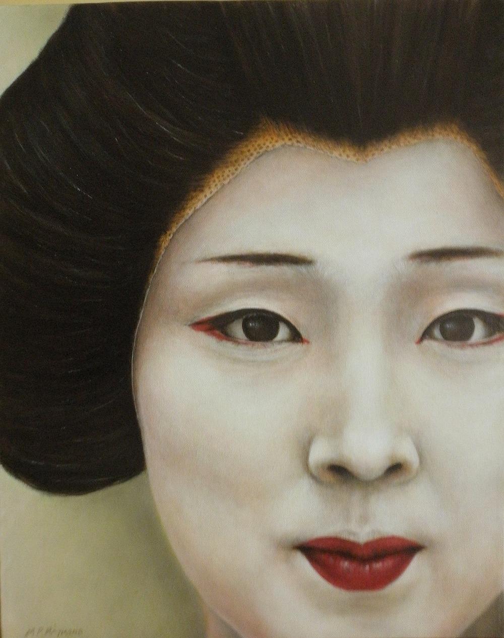"Geisha by MP ""Mike"" Raymond | ArtworkNetwork.com"