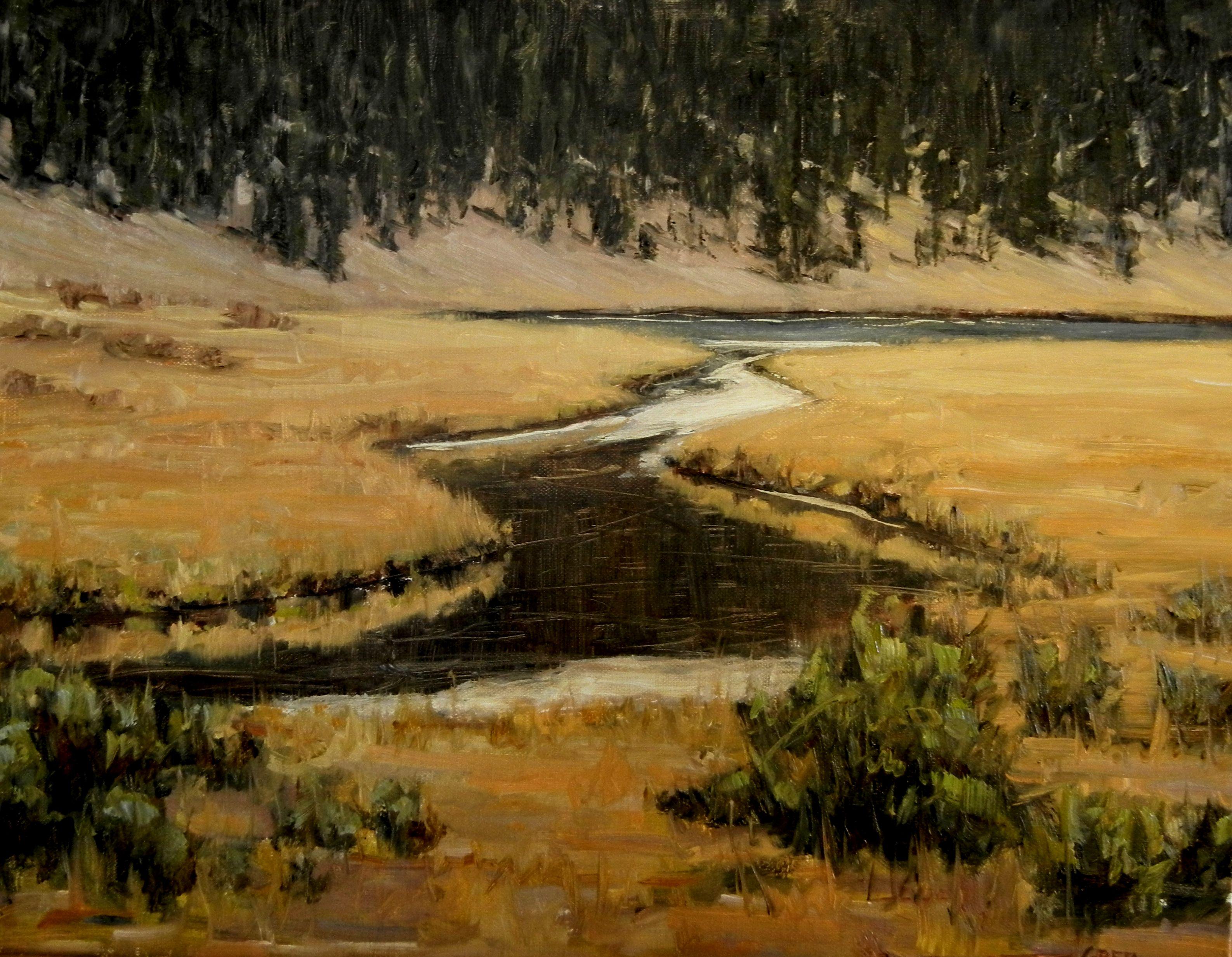 Calm Water by Greta Balzer | ArtworkNetwork.com