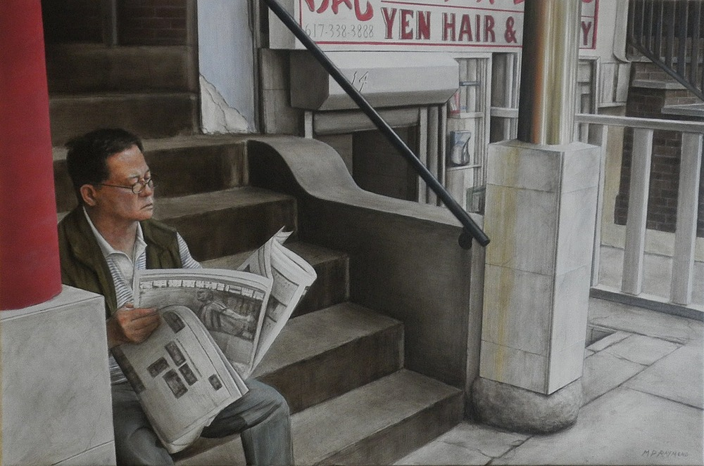 """Chinese Newspaper by MP """"Mike"""" Raymond 