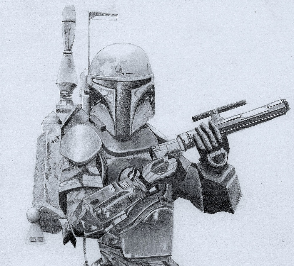 "Boba Fett by MP ""Mike"" Raymond 