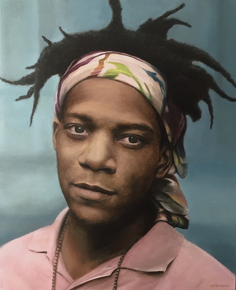 """Basquiat by MP """"Mike"""" Raymond 