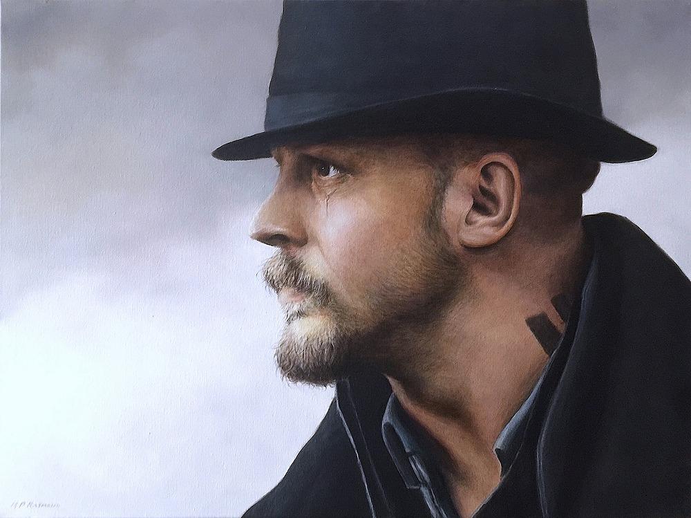 "Tom Hardy aka James Delany by MP ""Mike"" Raymond | ArtworkNetwork.com"