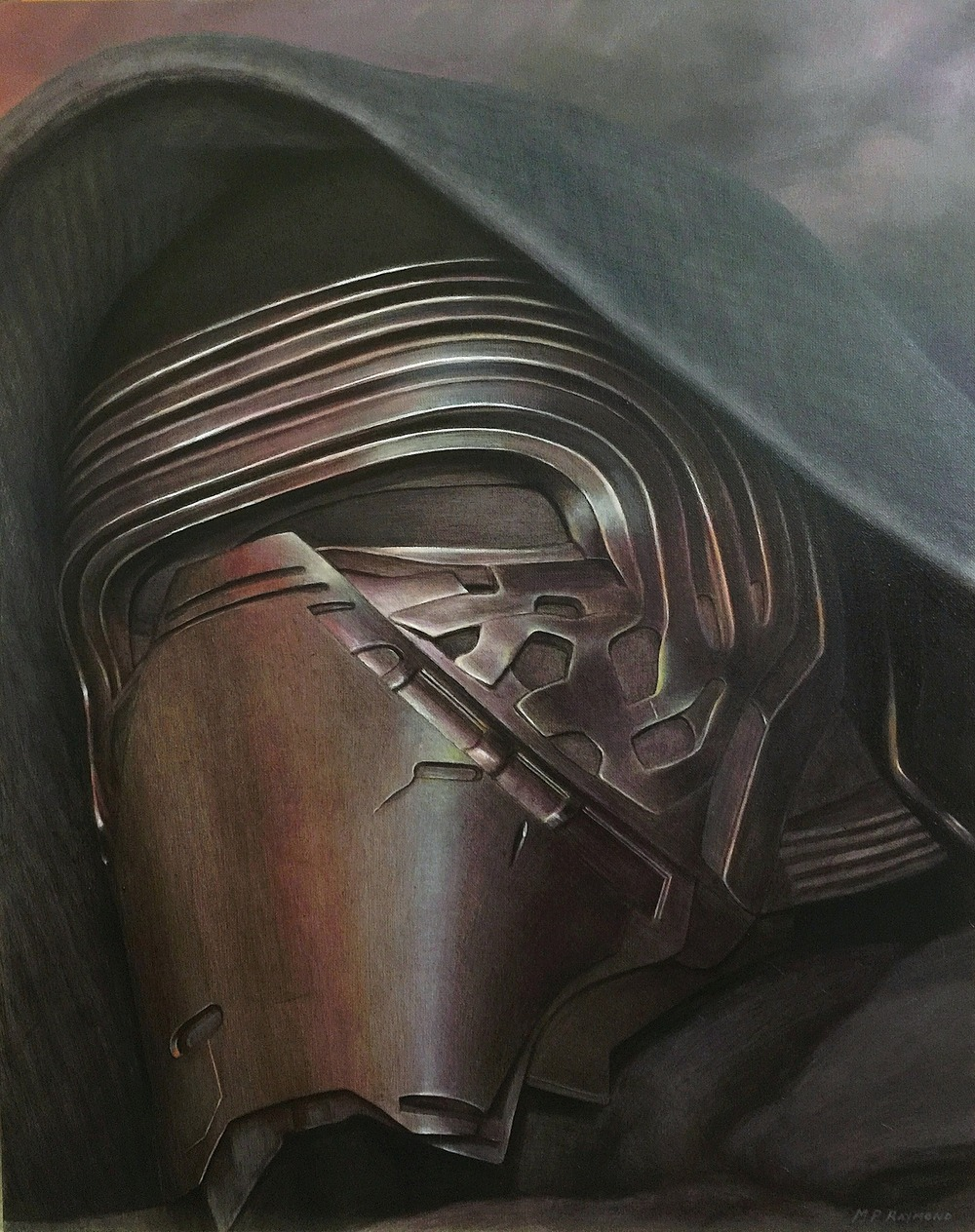 """Kylo Ren by MP """"Mike"""" Raymond 