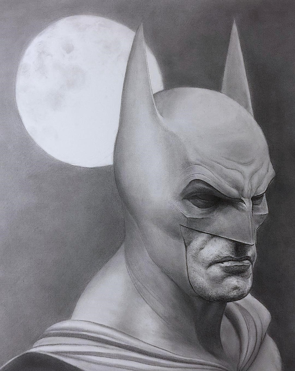 "Batman by MP ""Mike"" Raymond 