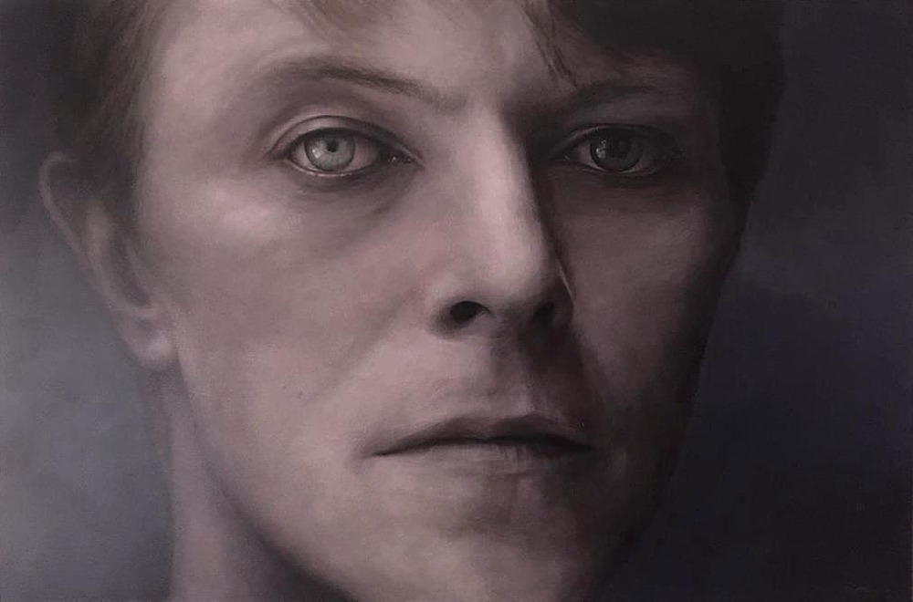 """David Bowie by MP """"Mike"""" Raymond   ArtworkNetwork.com"""