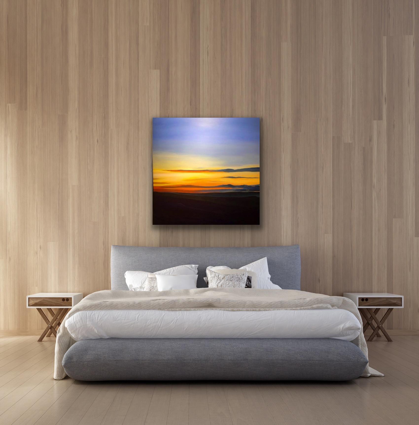 Blue Horizon by Amanda Stavast | ArtworkNetwork.com