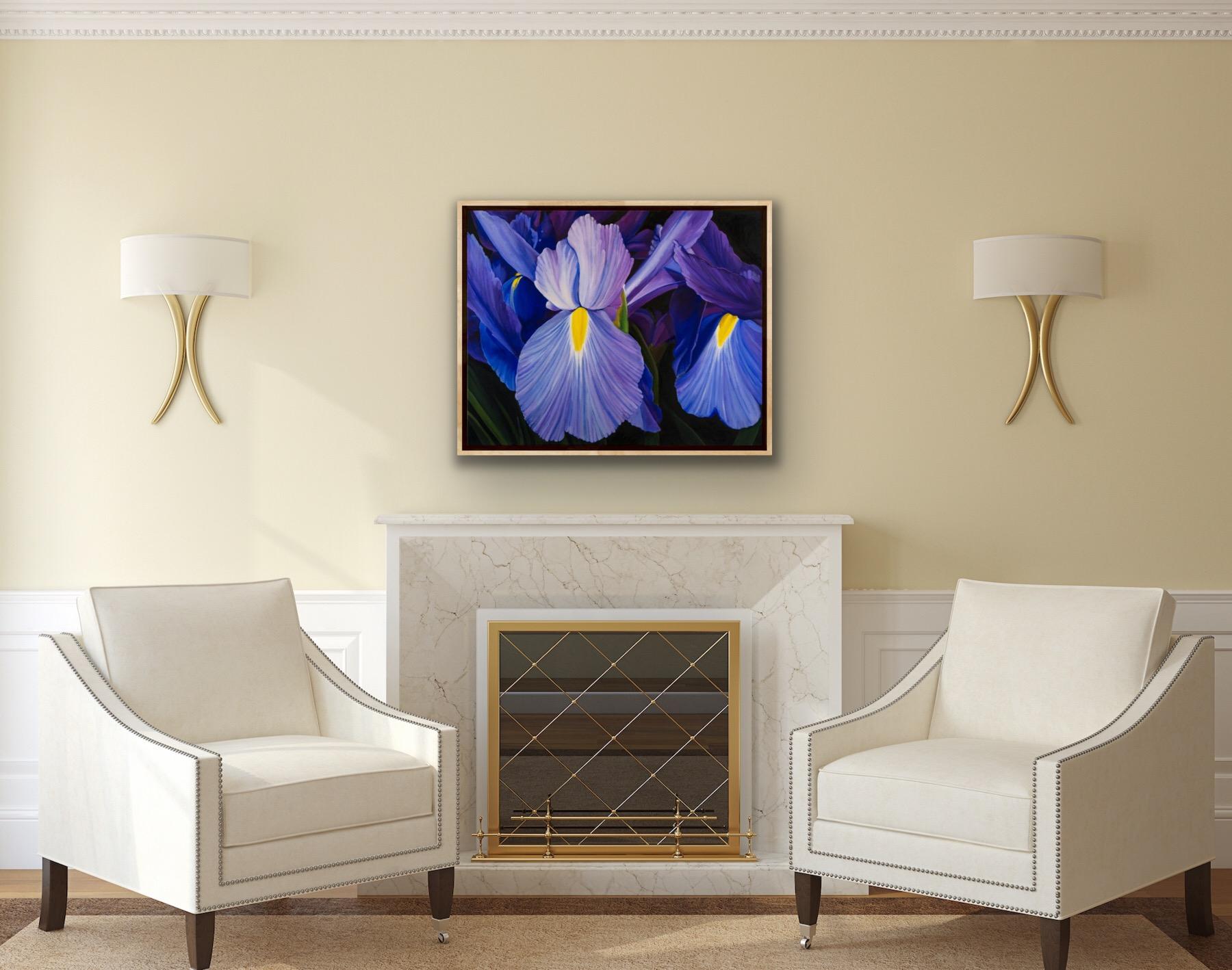 Dutch Irises by Amanda Stavast | ArtworkNetwork.com