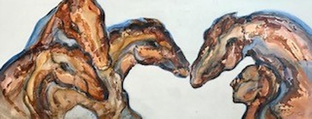horse whisperer I by Karen Poulson | ArtworkNetwork.com