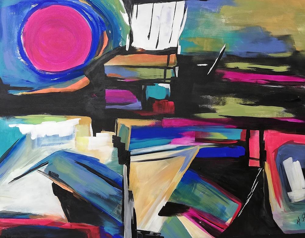 Inner City by Helene Strebel | ArtworkNetwork.com