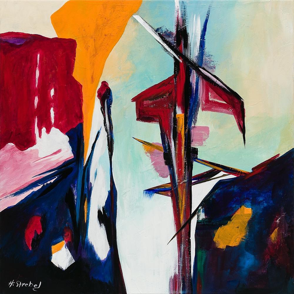 Night Walk by Helene Strebel | ArtworkNetwork.com