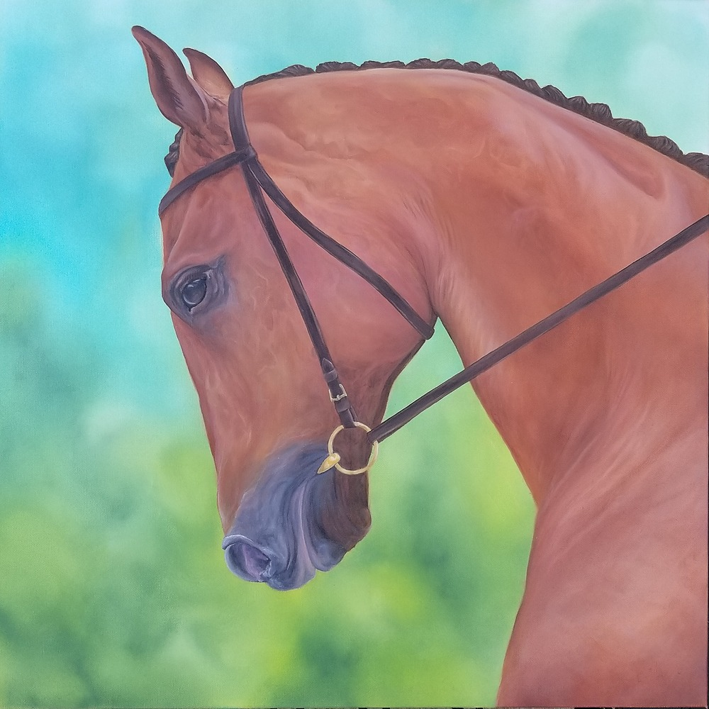 The Thoroughbred by Alexa Zepp | ArtworkNetwork.com