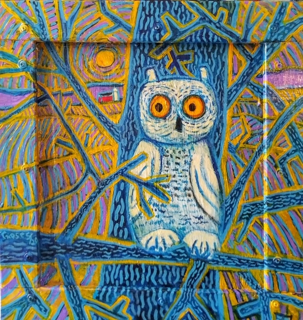 Owl by Mike Giese | ArtworkNetwork.com