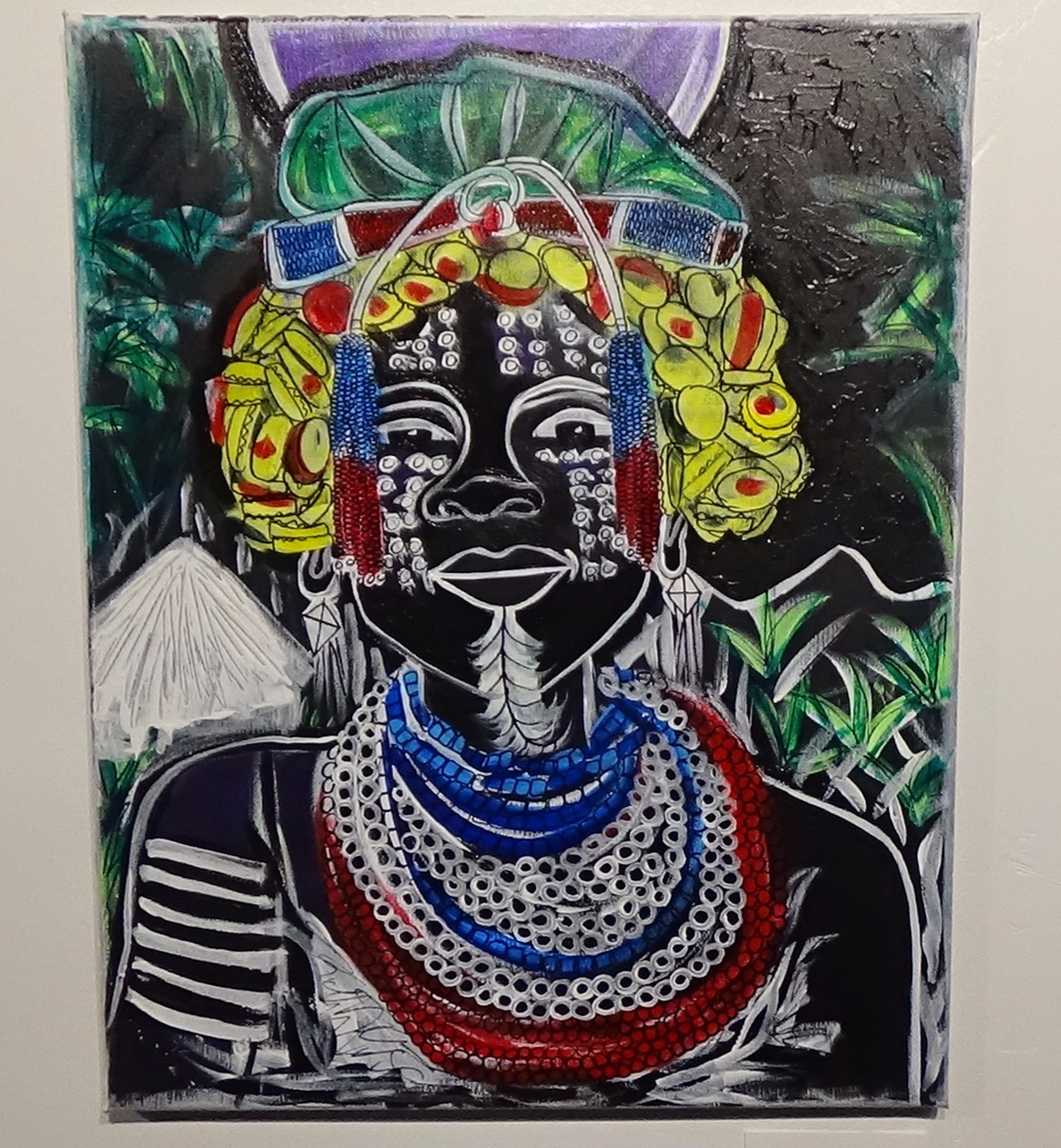 Beer Cap Wig by Flourish Galleria | ArtworkNetwork.com