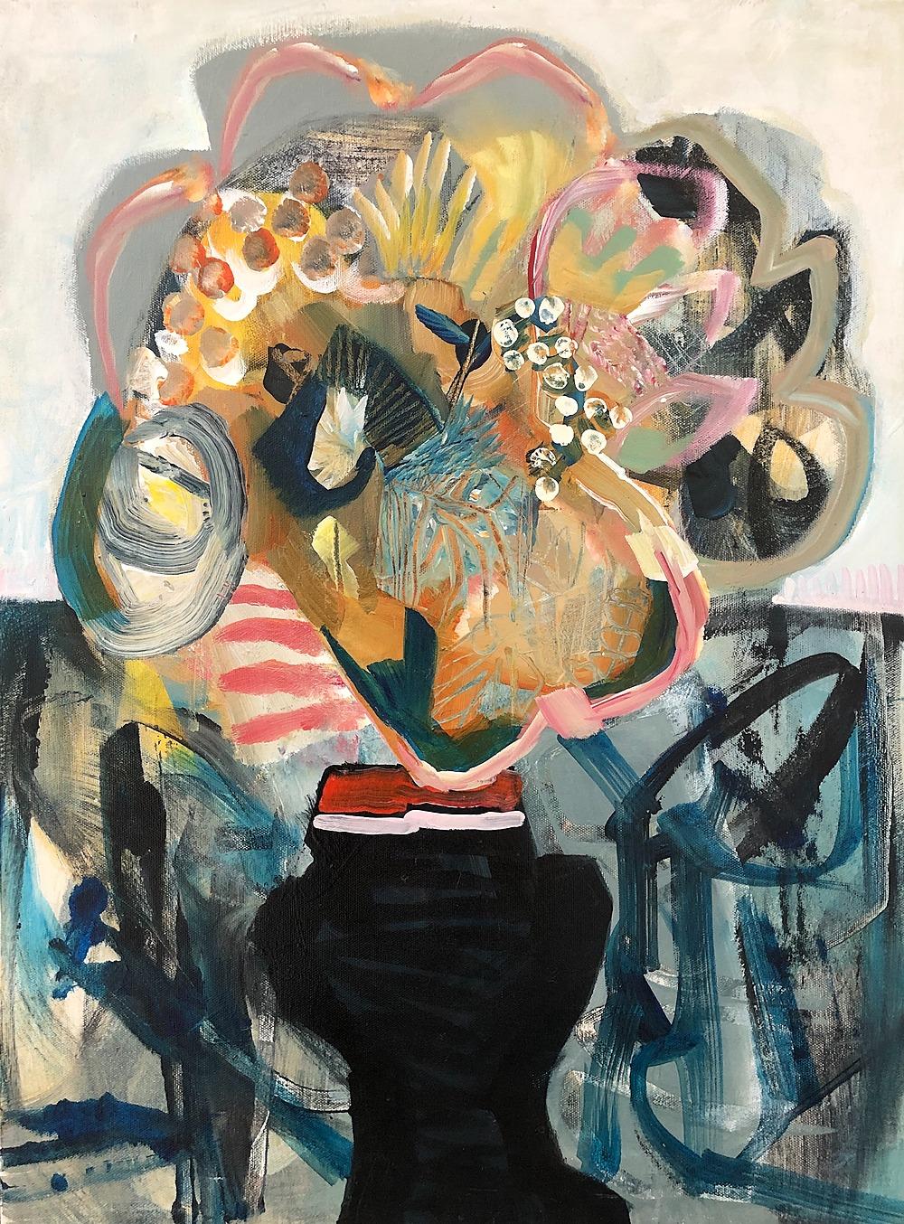 Floral Mash by Sarah Van Beckum | ArtworkNetwork.com