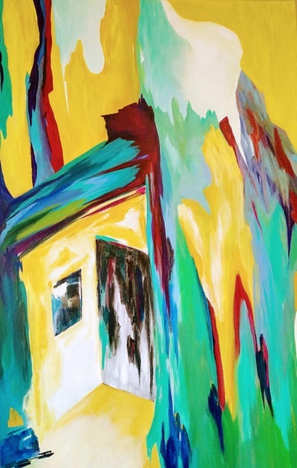 The Door by Helene Strebel | ArtworkNetwork.com